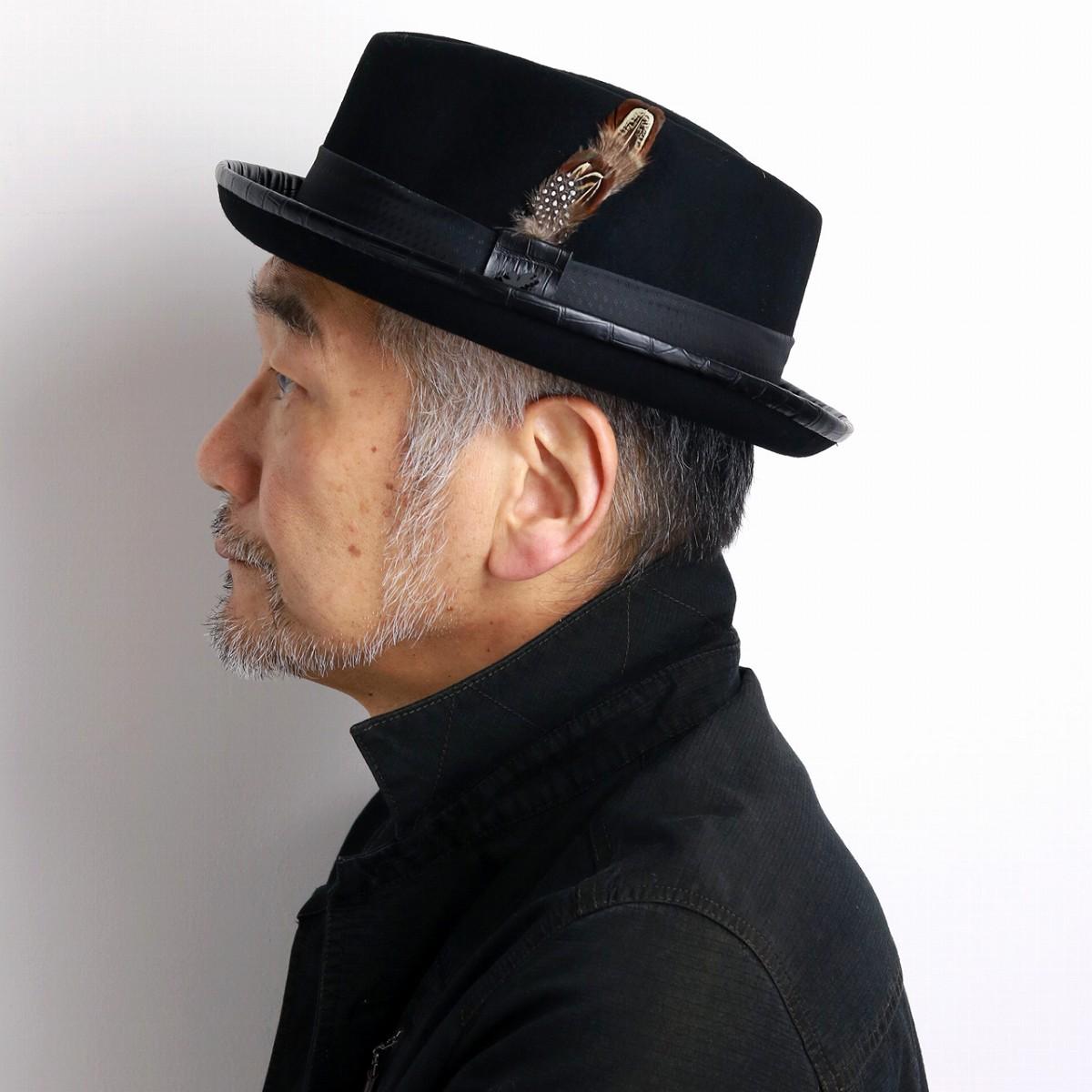 ... Gentleman big size M L LL United States brand fashion classical hat  black black  fedora  ... 1687a6c2ac1