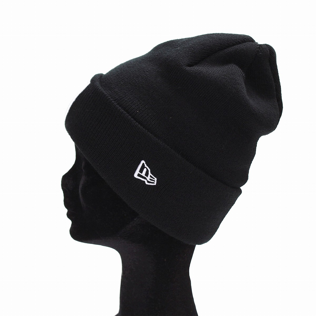 430d9b01 newera Oakland Raiders knit hat ニューエラニットワッチチームロゴ NBA NEWERA Basic Cuff Knit  black [beanie cap] present man new gills ...