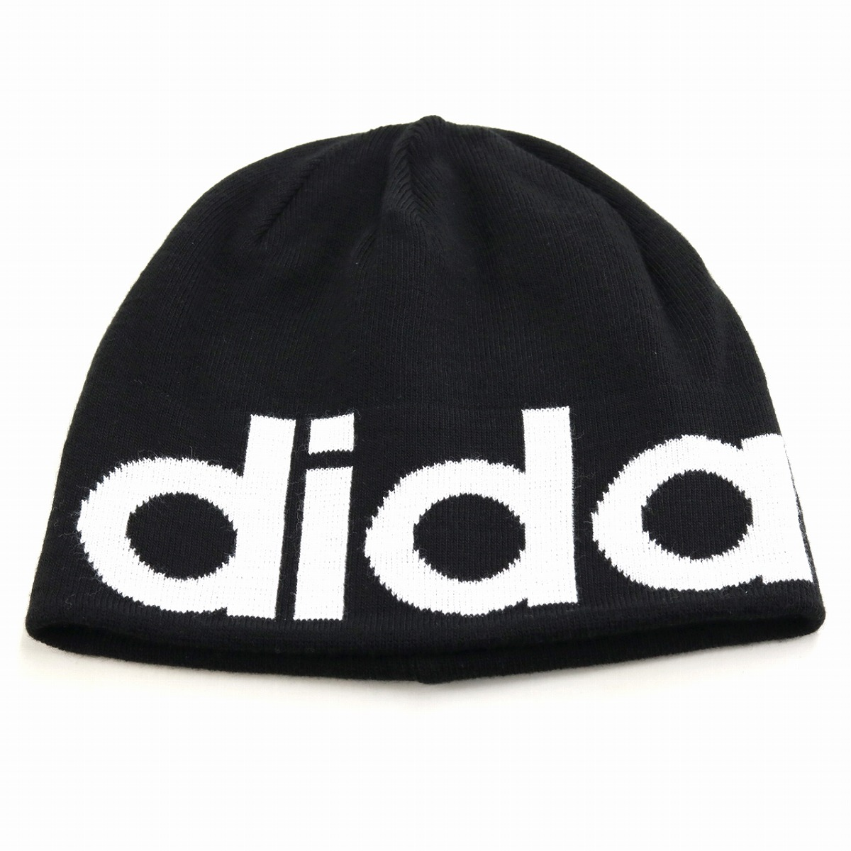 d52b9e1151d adidas knit hat 2way men beanie lapel ニットワッチ hat Adidas knit hat brand logo  adidas knit cap Lady s sports MIX coordinates casual stylish trendy item ...