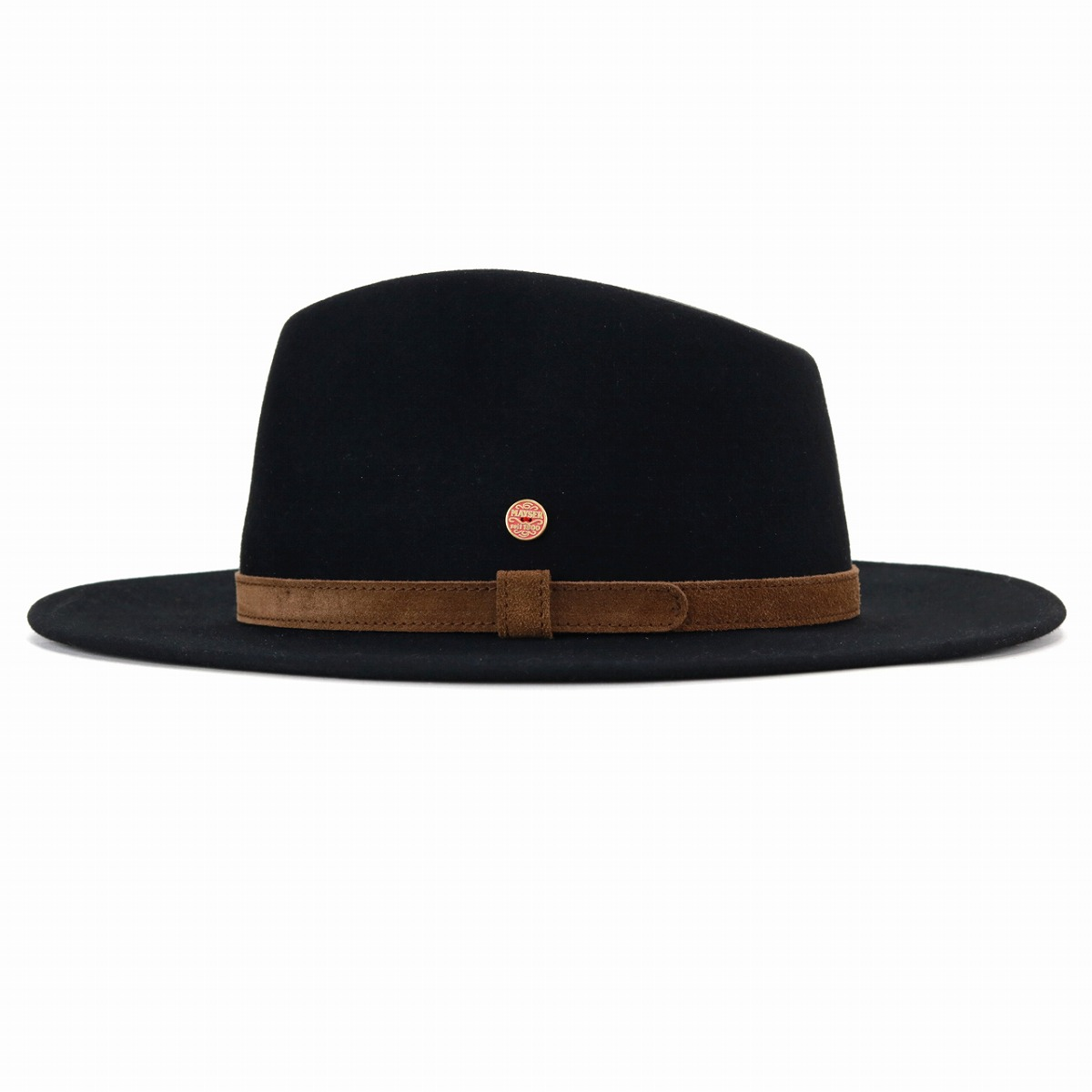 96451479 Y ditch rim suede genuine leather hat soft felt hat hat men Mai Zara bit  fur felt hat Lady's felt hat men MAYSER trilby hat Shin pull gentleman / ...