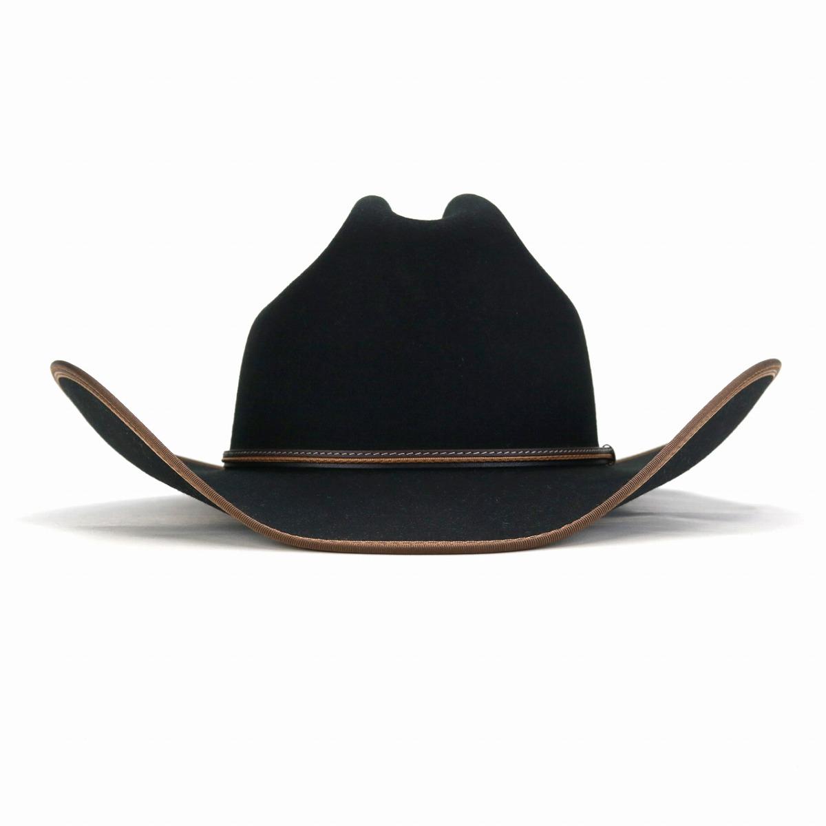 68a20c05069395 ... STETSON western hat United States brand gentleman hat キャトルマンハットステットソン  soft felt hat ten ...