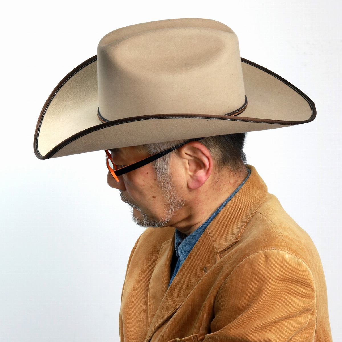2823f350d21b7 ELEHELM HAT STORE  Brand trilby hat   sand  cowboy hat  stetson hat ...