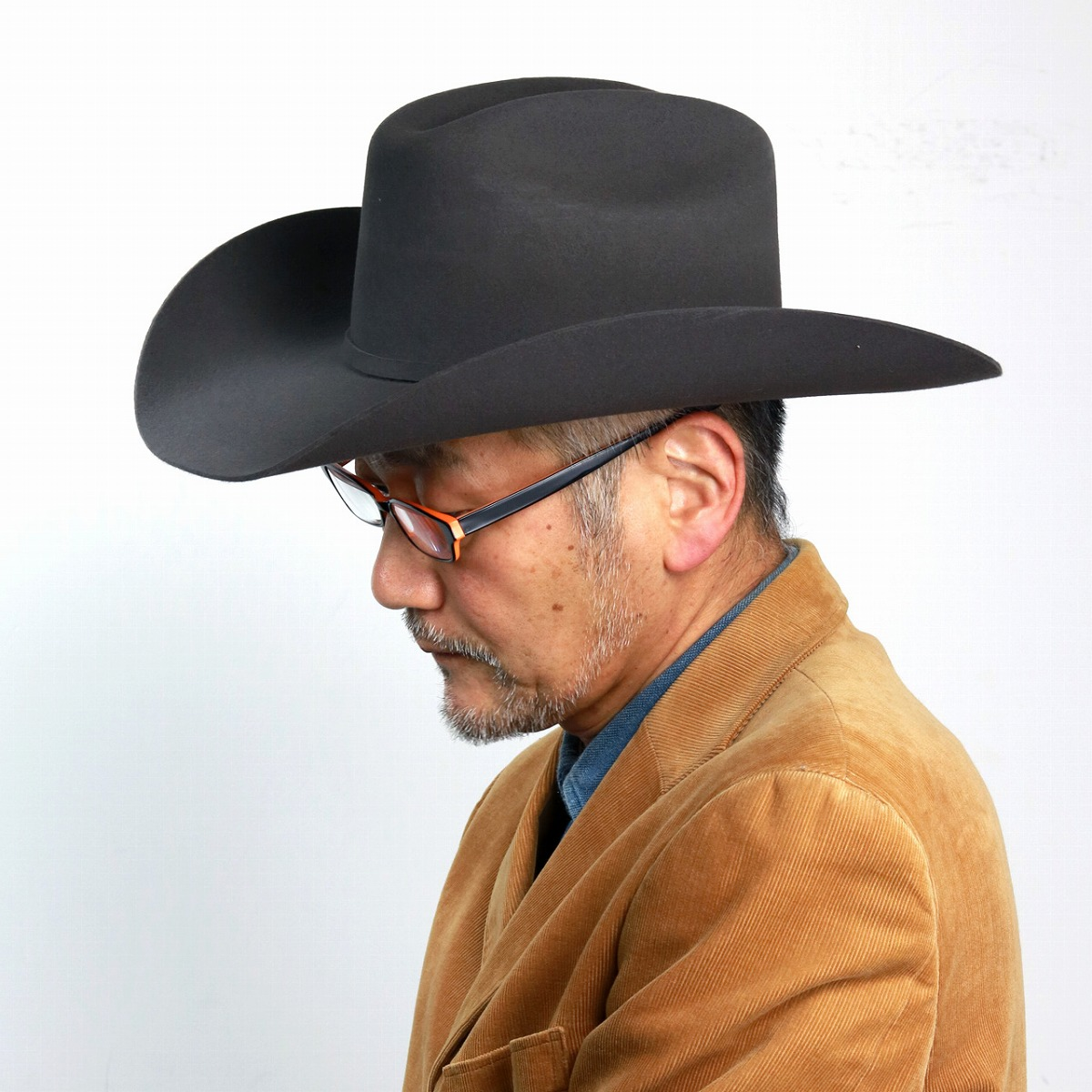 ステットソン カウボーイハット メンズ 秋冬 stetson 帽子 STETSON つば広ハット ウール フェルトハット 高級 ウエスタン 中折れ帽 紳士 テンガロン アメリカ製 ブランド グレー [ cowboy hat ] stetson 帽子通販 男性 帽子 クリスマス ギフト プレゼント
