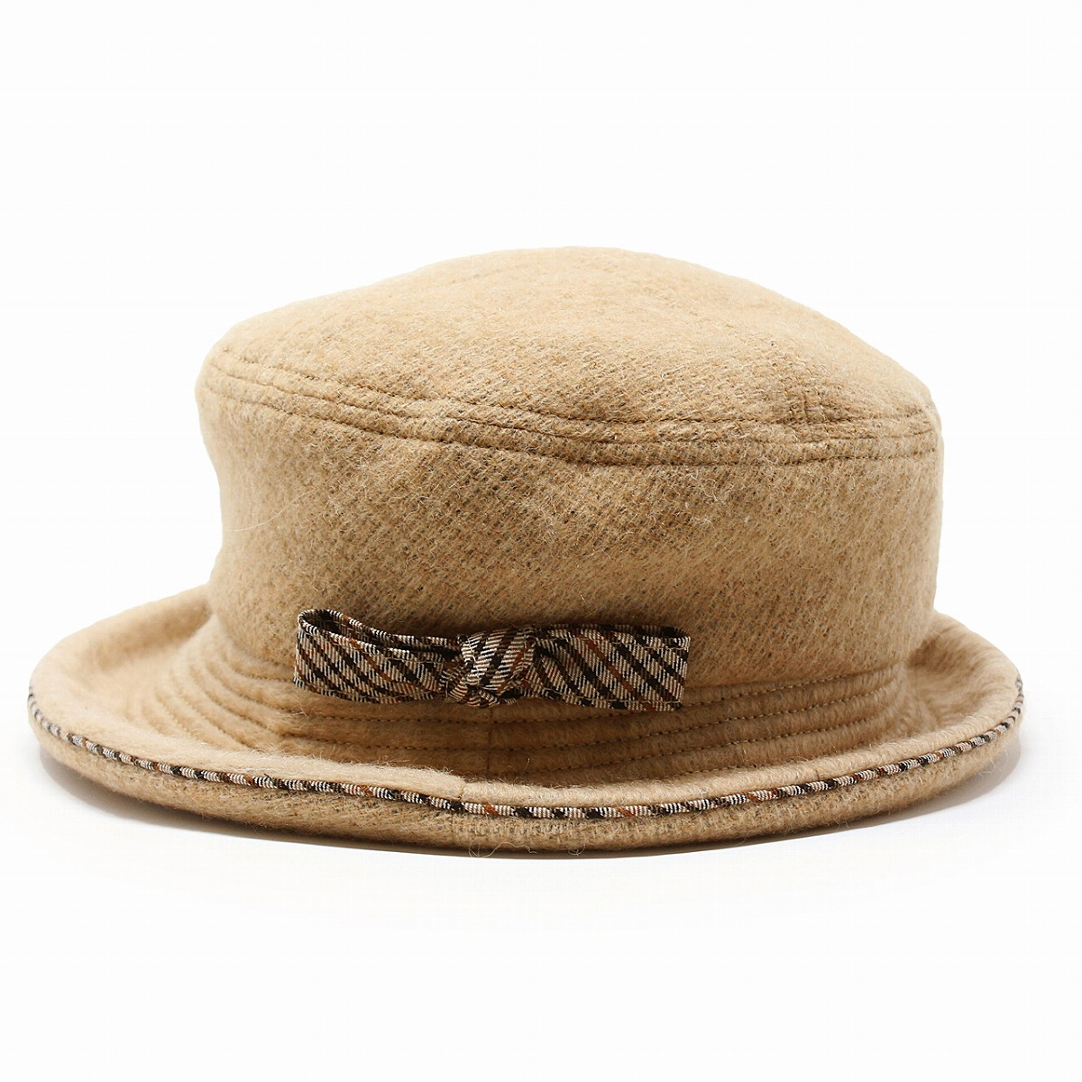 cdc44161 ELEHELM HAT STORE: Product made in DAKS hat wool fabric Lady's hat ...
