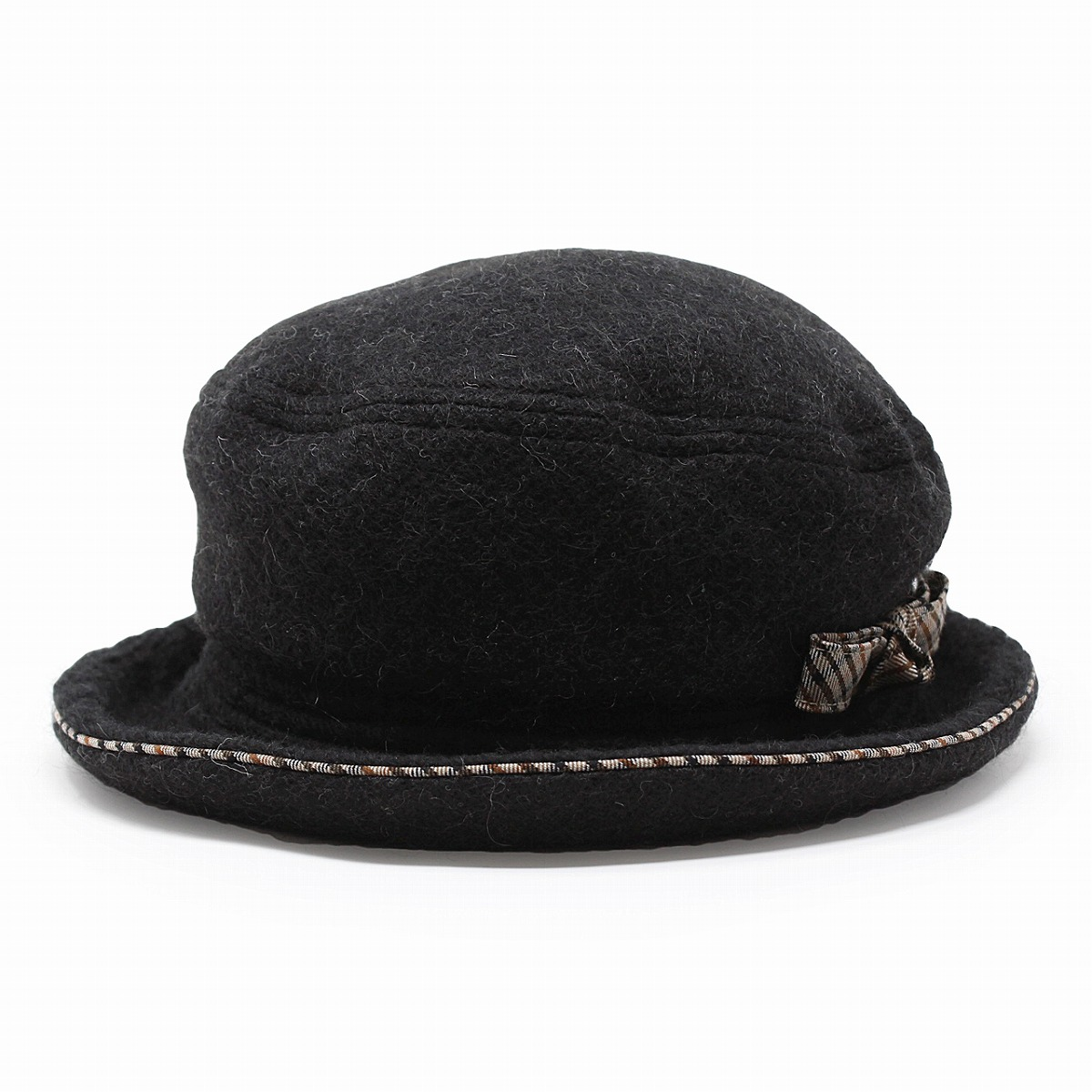 1ab92151 ... Product made in lady's hat wool fabric DAKS hat fashion Mrs. sailor hat  check Hattori ...