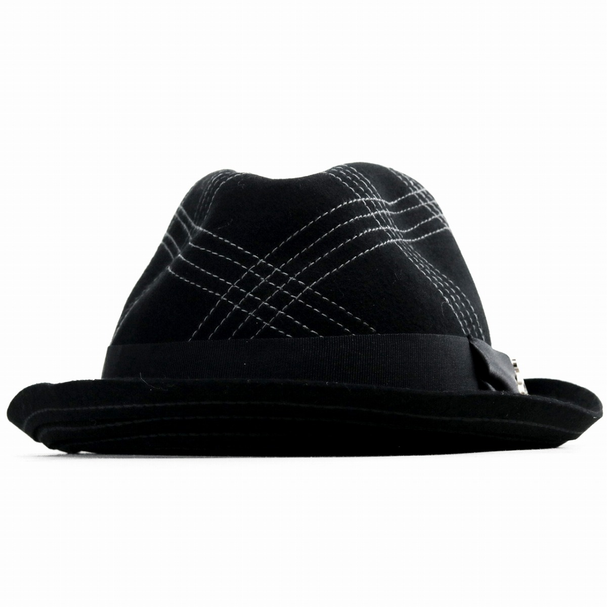 73a6864f116 Carlos Santana men hat hat wool hat CARLOS SANTANA felt hat check soft   Straw ...