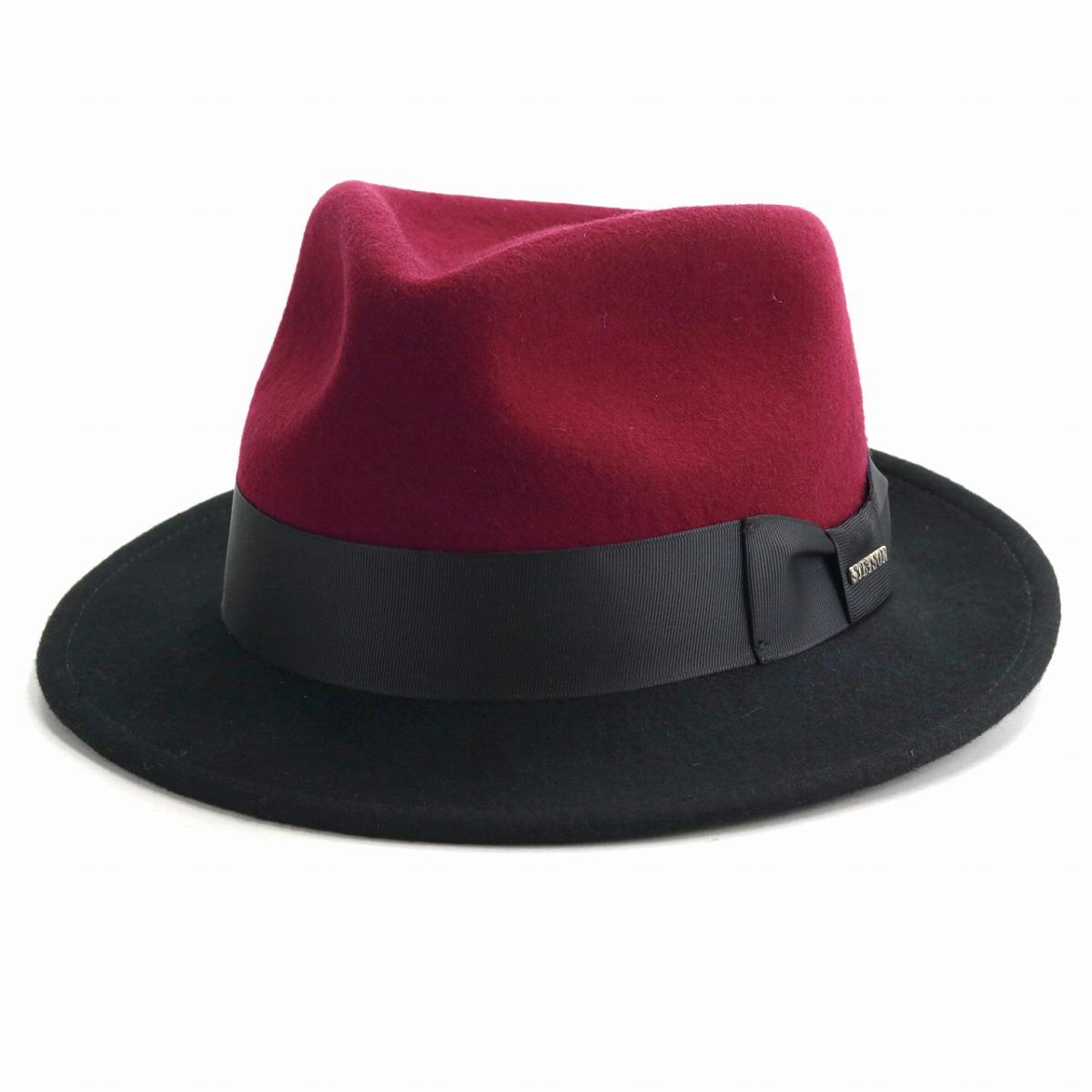 2 hat men tone color STETSON felt hat men wool Stetson soft felt hat hat hat  ... a5db5442bf1