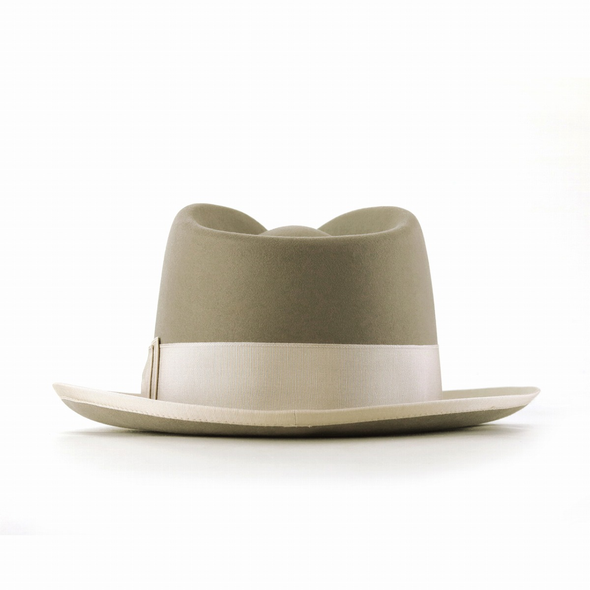 fd7312a8494 Silver gray  fedora  stetson hat mail order man hat with the box made in  the Ver.1 beaver 100 STETSON we pet hat hat high-quality soft felt hat hat  WHIPPET ...