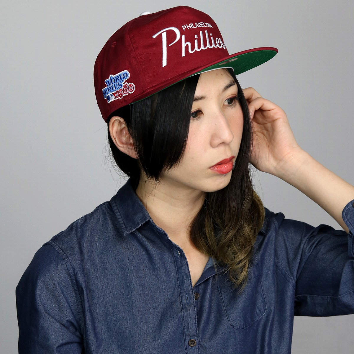 5e2ab661855 New era Cap mens 9 FIFTY all season NEWERA hats Philadelphia Phillies new  era retro baseball cap logo Cap Women s casual baseball cap stylish popular  Red of ...