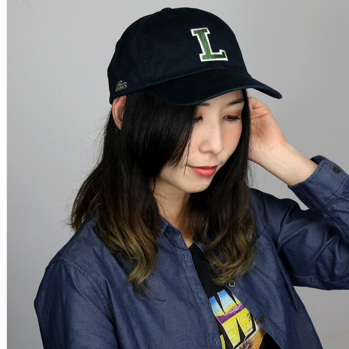 69af3054768 Hats mens Hat Cap Lacoste size adjustable cotton cap Navy (casual fashion hats  CAP and clean stylish folks casual adult casual fashion Baseball Cap  Baseball ...