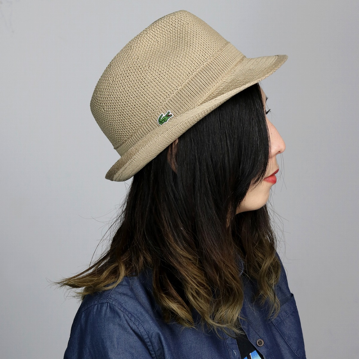 9a03b1f7c44 LACOSTE Lacoste spring summer fashion / evisu Polo knit hats caps Hat /  mens beige (hats caps Cap casual fashion hats spring summer in folding hat  for ...