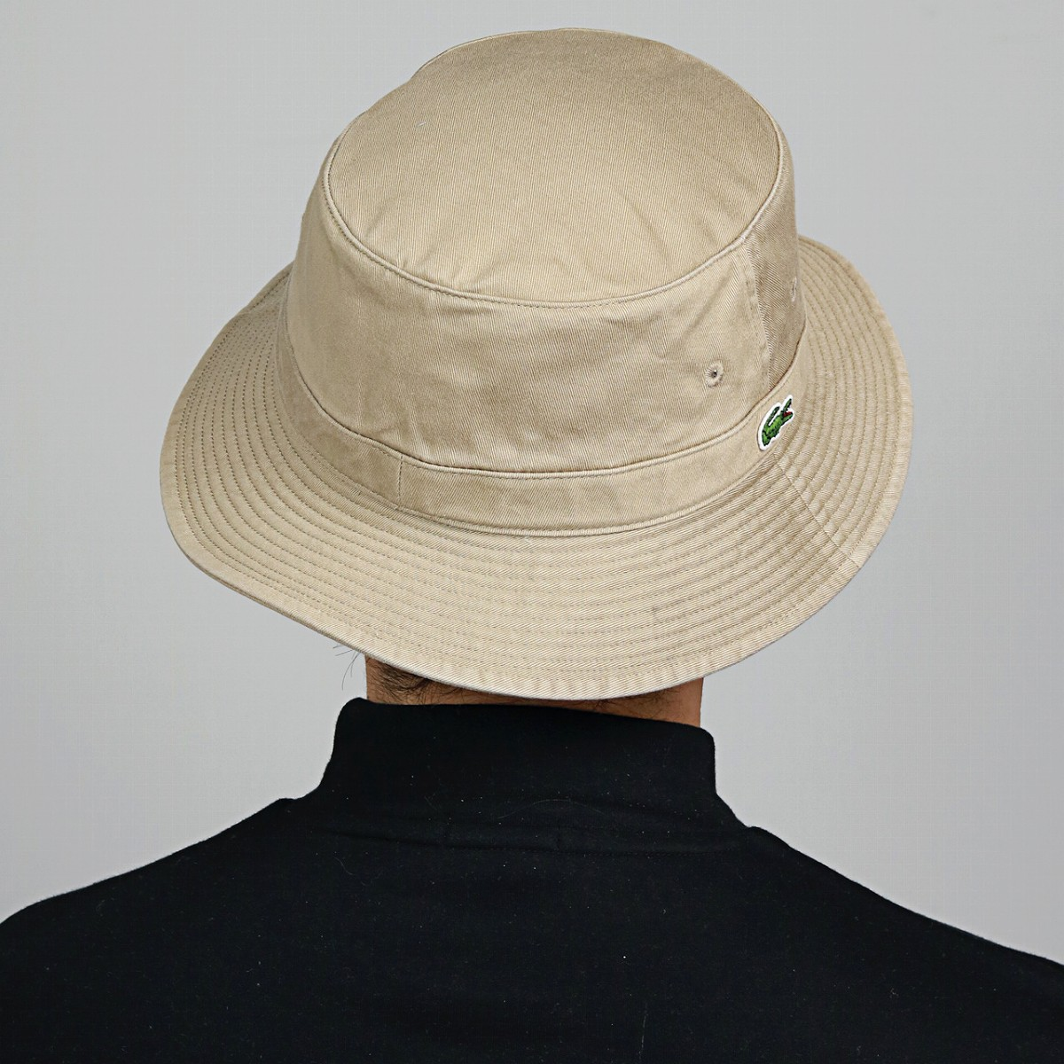 1c17cee5e9bc43 ELEHELM HAT STORE: LACOSTE bucket Hat Lacoste Hat Safari Hat beige ...