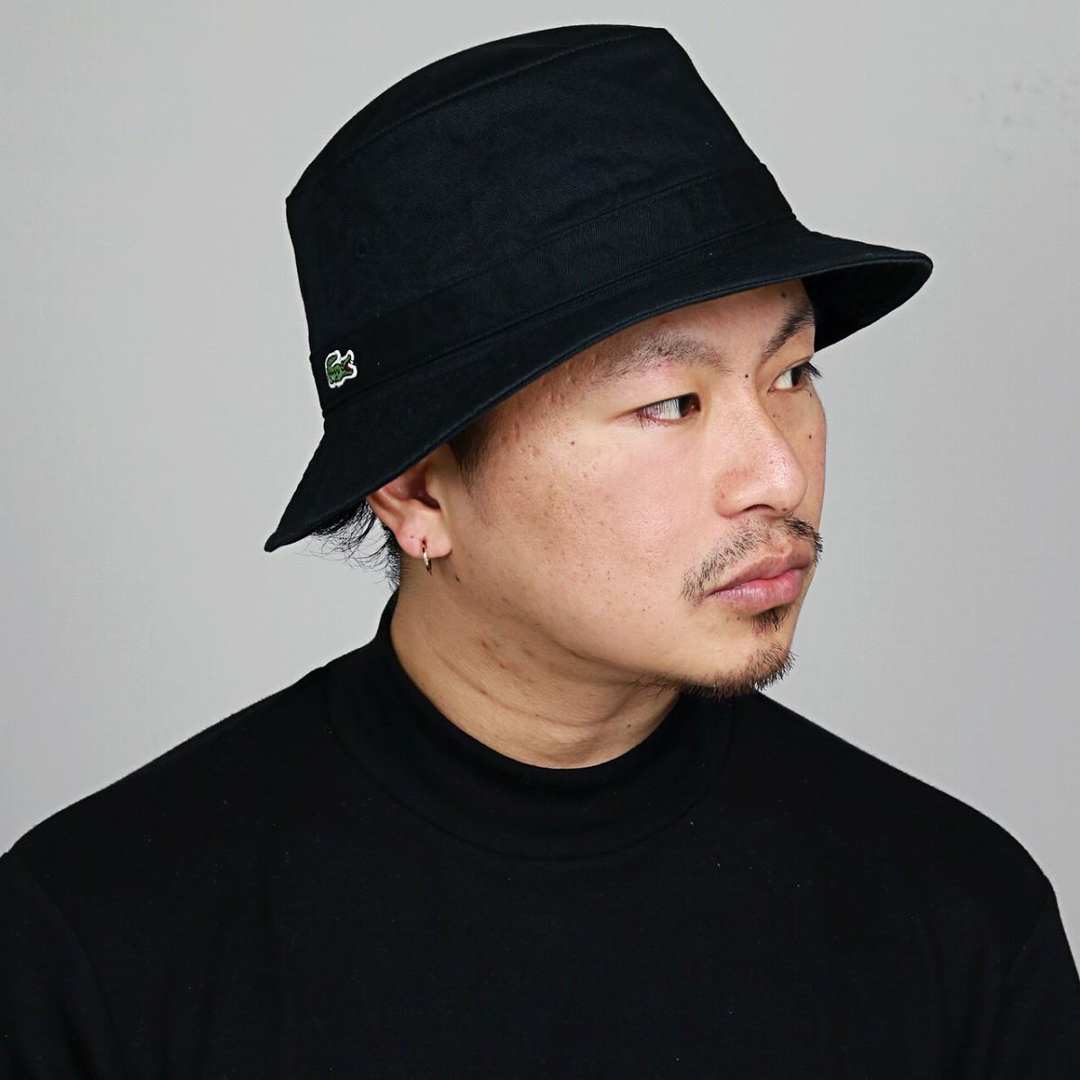 ce4f1fa2fdf955 ELEHELM HAT STORE: LACOSTE bucket Hat Lacoste Hat Safari Hat Black ...