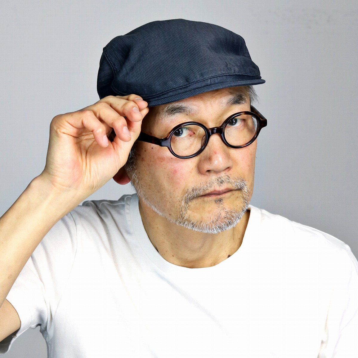 1c23fabe0c6 Size size adjustment hat brand   dark blue navy  ivy cap  where Shin pull  moisture absorption fast-dry Lamy hemp S M L LL hunting cap is big in Mila  Schon ...
