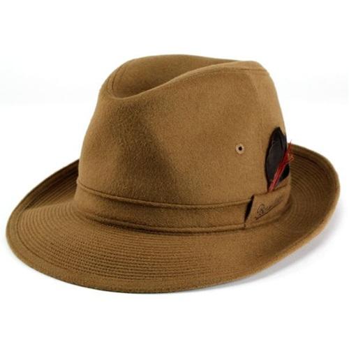 ボルサリーノ 帽子 メンズ カシミヤ100% 中折れ Borsalino ハット 大きいサイズ 中折れハット 60cm 61cm 日本製 高級 カシミヤ素材 中折れ帽子 ブランド 折りたためるソフト帽子 ワイドブリム キャメル [ fedora ] 紳士 中折れ帽 帽子 通販 プレゼント