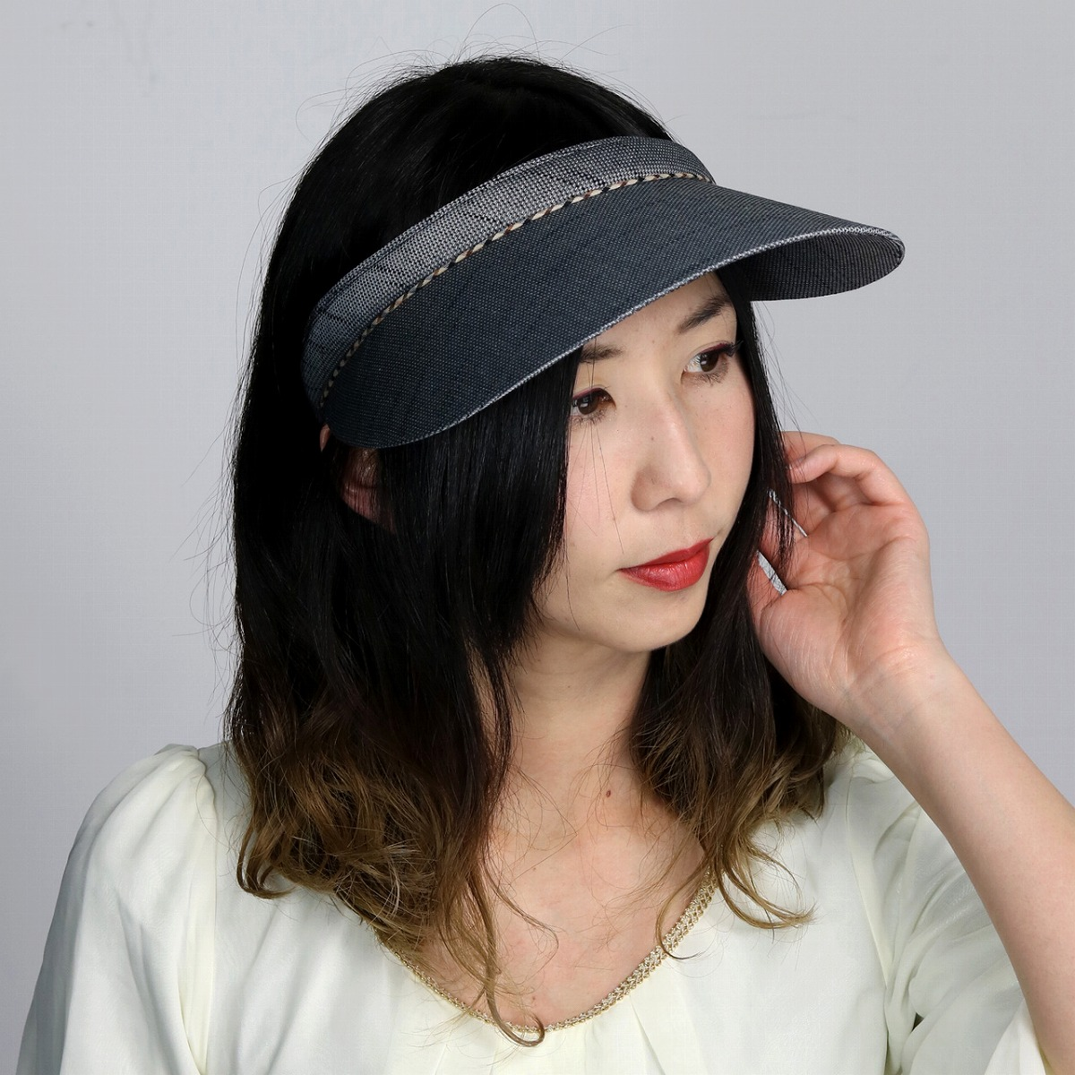527fe031 ELEHELM HAT STORE: It is a gift present in tennis golf sportswear accessory  house check black black [visor] Mother's Day in spring and summer made in  sun ...