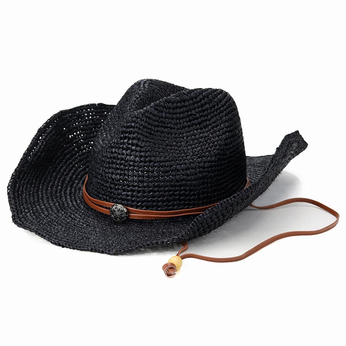 ... Stylish chin strap awning cowboy natural black black  cowboy hat    straw hat  ... 4b99259b67c