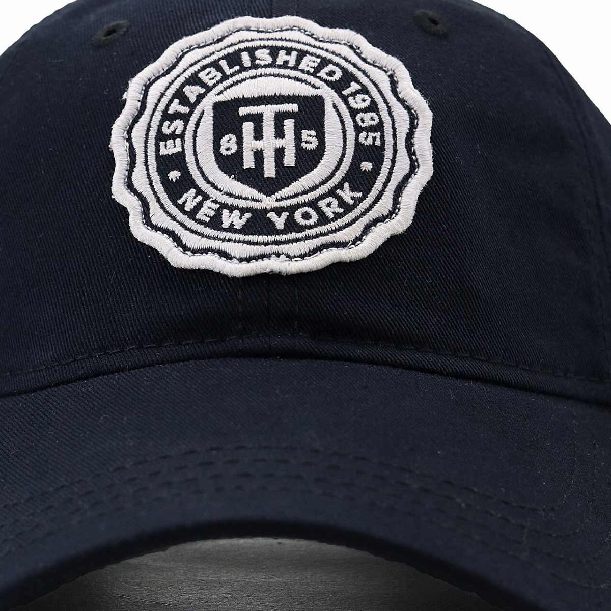 Cap Tommy Hilfiger Men Cotton Casual Sports Baseball Ladys Hat Dark Blue Navy Fathers Day Gift Birthday Present In The
