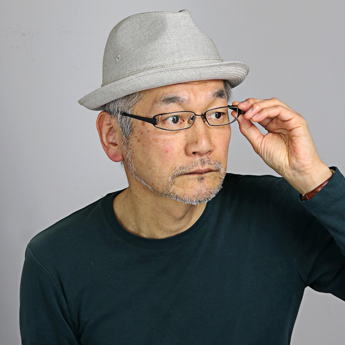 DAKS 中折れハット メンズ 春夏 ニューレスコー リフレール 帽子 メンズ サイズ調節 ダックス ハット チェック柄 中折れ帽 紳士 英国 ブランド 日本製 ベージュ[ fedora ]男性 誕生日 帽子 父の日 ギフト プレゼント