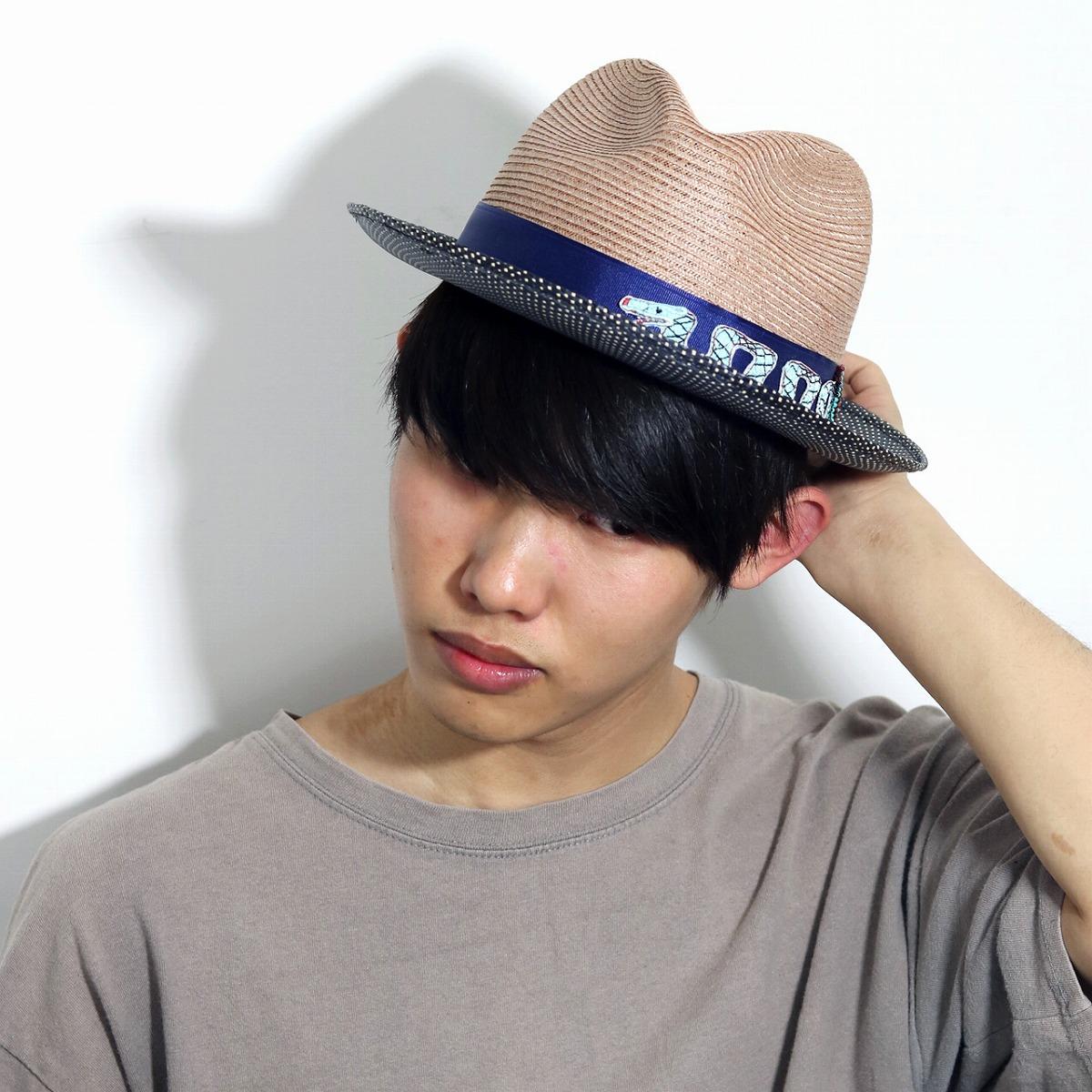 daaf0638278 2 soft felt hat hat men tone hemp import hemp blade CARLOS SANTANA straw  hats stylish individual Carlos Santana snake emblem ribbon soft felt hat  gentleman ...