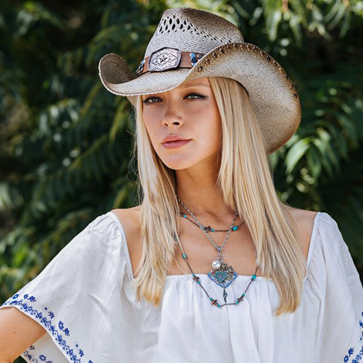... This Panamanian ten-gallon hat high quality cowboy hat California Hat  Company Inc. men ... 7641a4ddd346