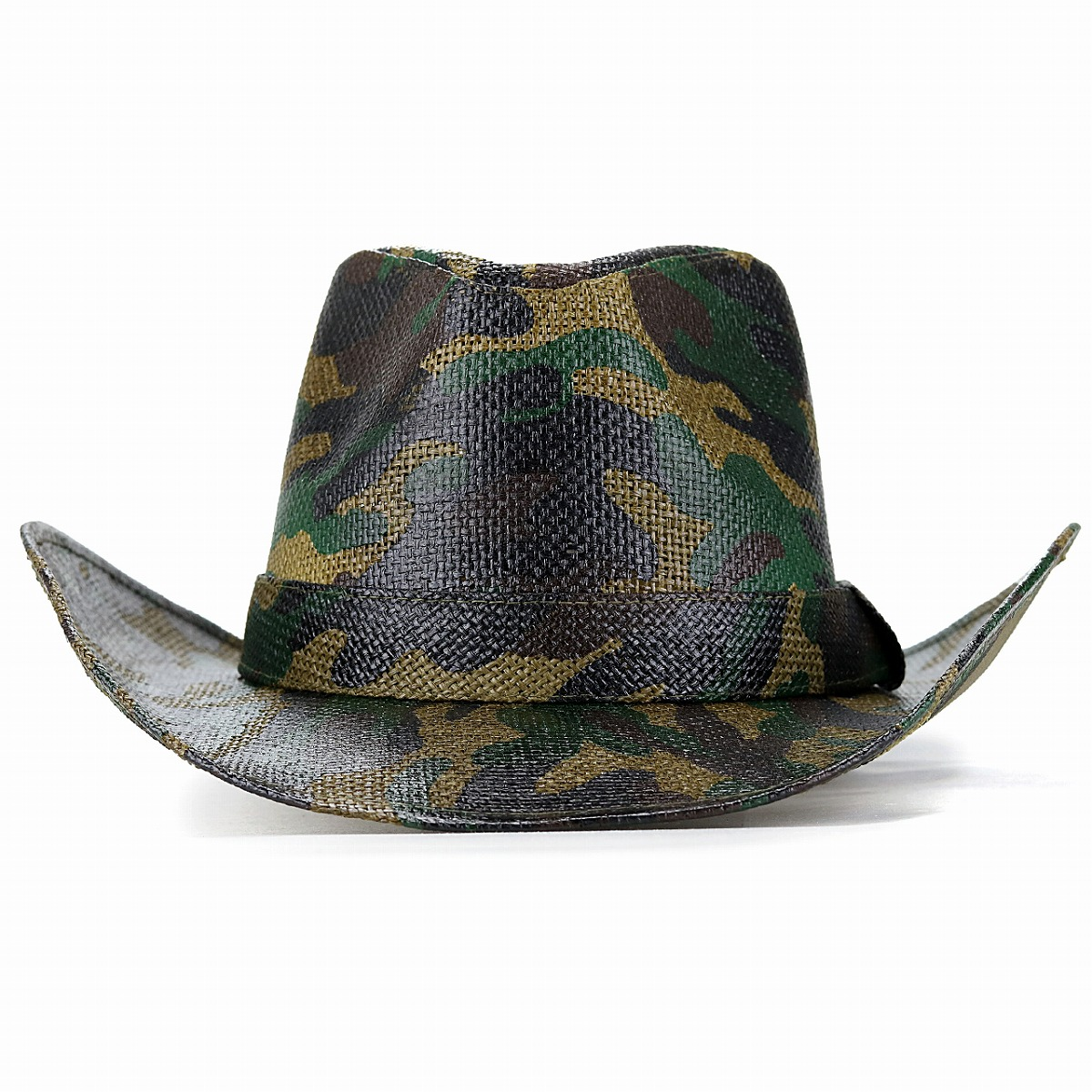 ELEHELM HAT STORE  Ten-gallon hat camouflage pattern California hat ... 3bb3232a235