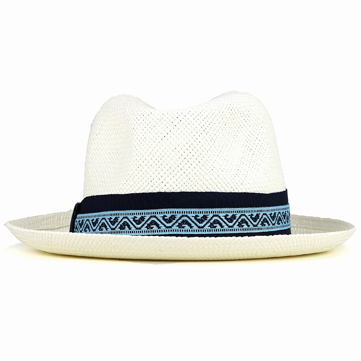b4a13fdbc24 Greg Bourdy White Panama Hat Mens