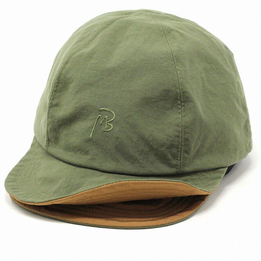MAISON Birth キャップ メンズ リバーシブル メゾンバース 帽子 春夏 レディース CAP トランスフォームキャップ 新型リバーシブル 大人 ベースボールキャップ シンプル 無地 ユニセックス / オリーブ [ cap ] [ deerstalker cap ] プレゼント 男性 帽子 ギフト