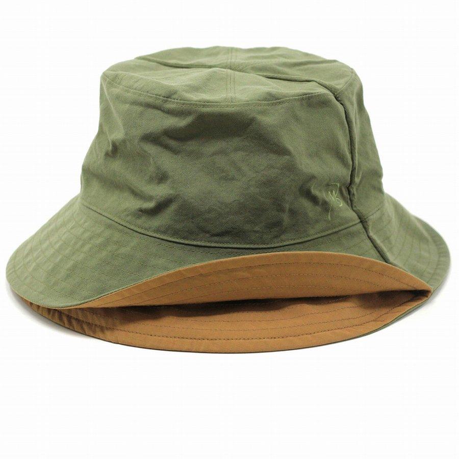 メゾンバース アウトドア 帽子 リバーシブル ハット 撥水 折りたためる 帽子 メンズ サファリハット 野外フェス 雨具 ハット レディース MAISON Birth 撥水 ナイロン オリーブ [ backet hat ] プレゼント 男性 帽子 ギフト