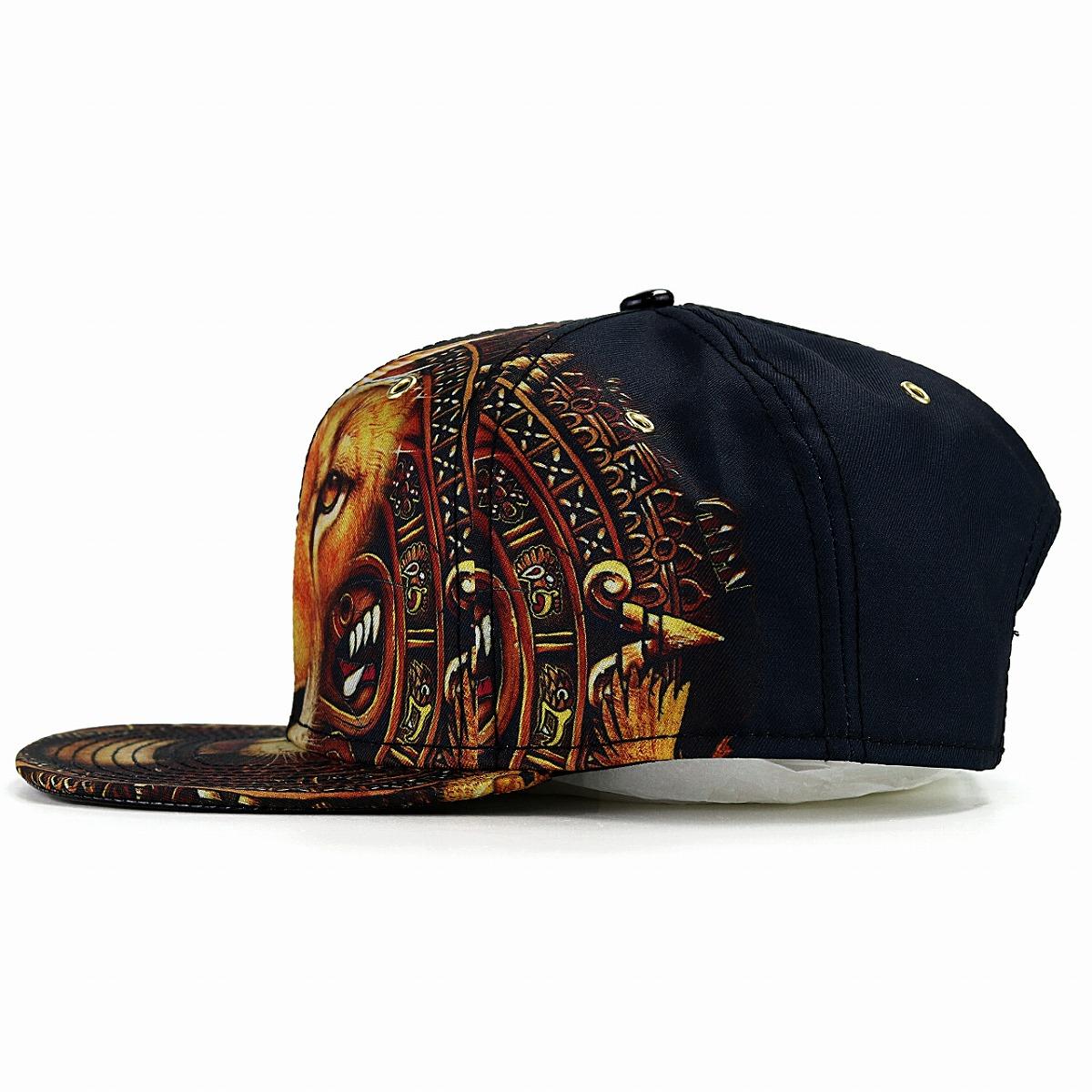 ... Hat men cap lady s import CARLOS SANTANA lion rial Aztec Carlos Santana  animal printed pattern baseball ... 64e5790d8bc