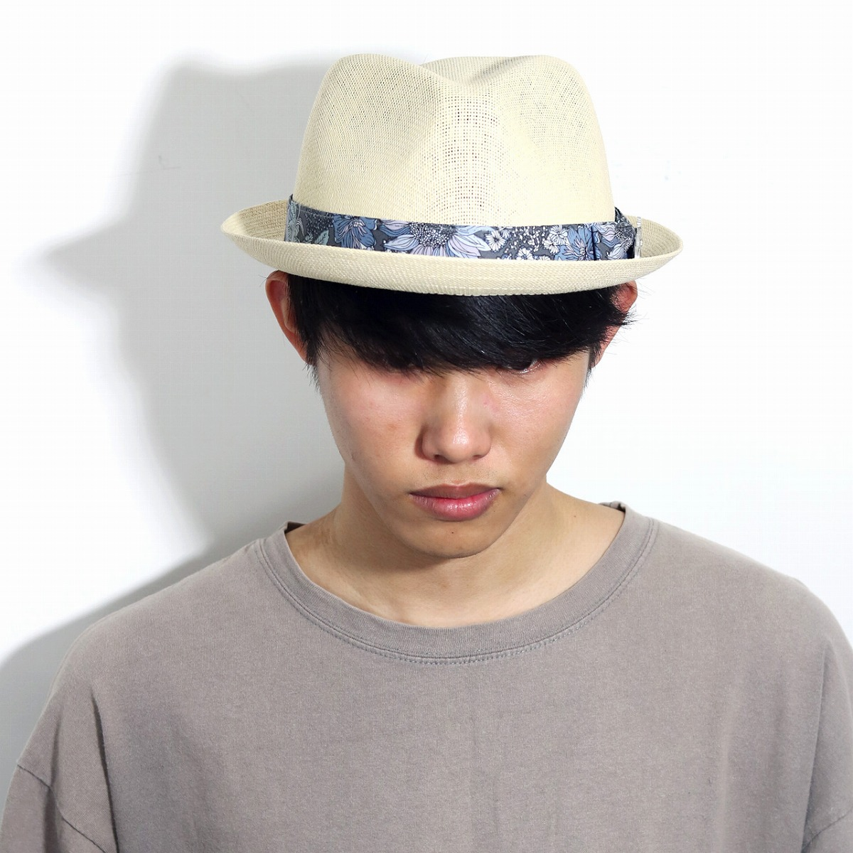 fd703bc2a24 Straw hat men resort fashion Carlos Santana hat soft felt hat Toyo straw hat  import CARLOS ...