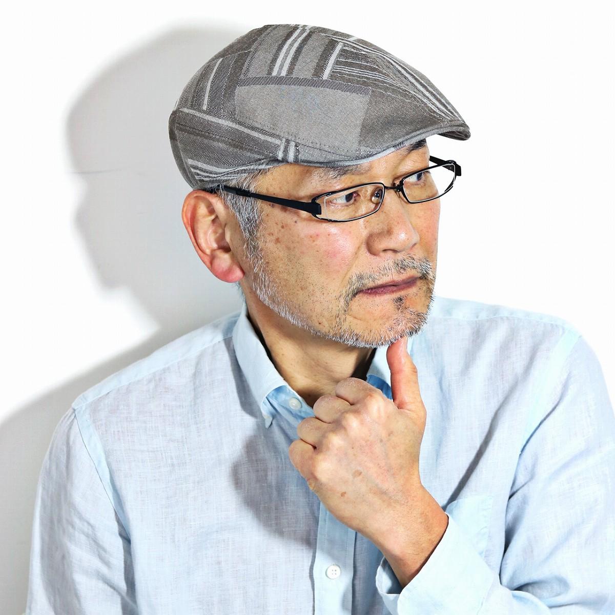 ハンチング メンズ フランス製 CRAMBES 夏 帽子 ビッグサイズ インポートブランド IVY CAP クランベス メンズ 大きいサイズ プロムナード ブラウン系 [ ivy cap ] クリスマス 帽子 プレゼント ギフト