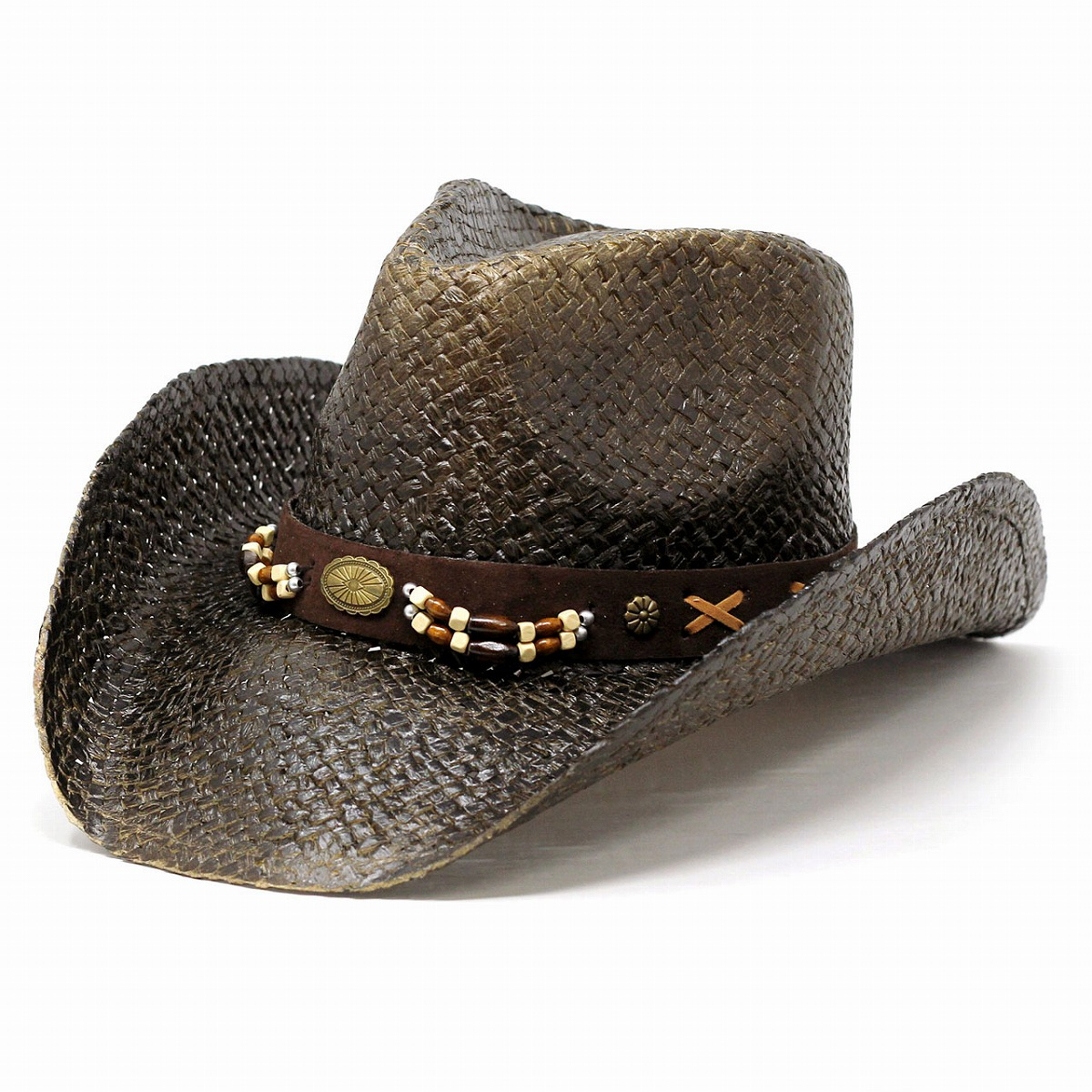 6a62be015aaa6 Straw hat men paper soft cap Lady s summer California Hat Company Inc.  United States western hat hat California hat cowboy Y ditch rim natural  broad-brimmed ...