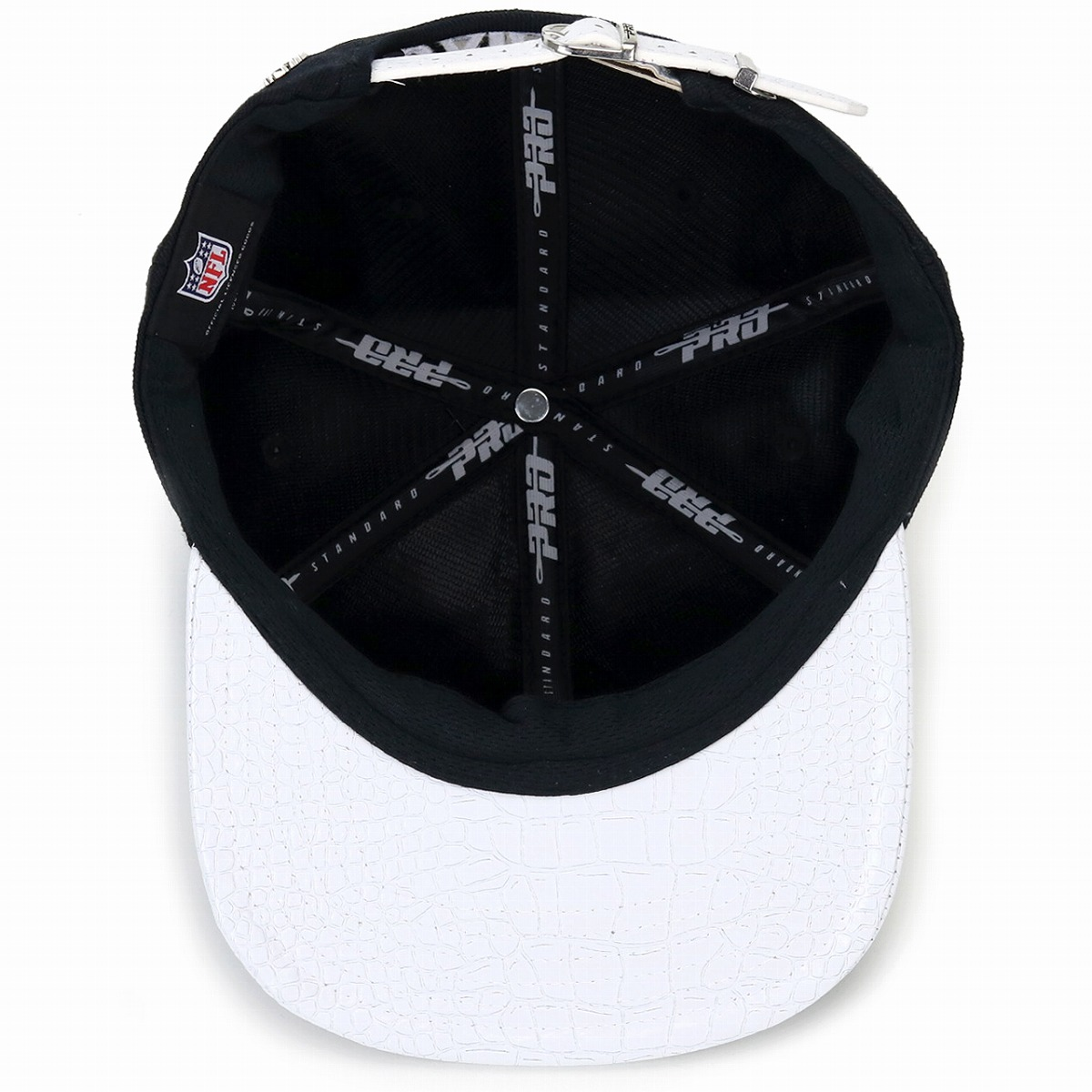 dd33d801a Professional standard NFL logo cap Oakland Raiders logo men gap Dis hat Pro  Standard Oakland Raiders black / white [baseball cap]