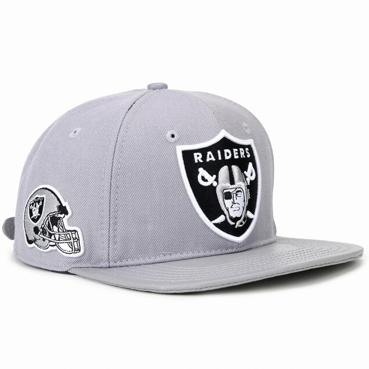 d74df24f3 Professional player Oakland Raiders logo chief standard NFL Oakland Raiders  logo men gap Dis hat Pro Standard gray [baseball cap]