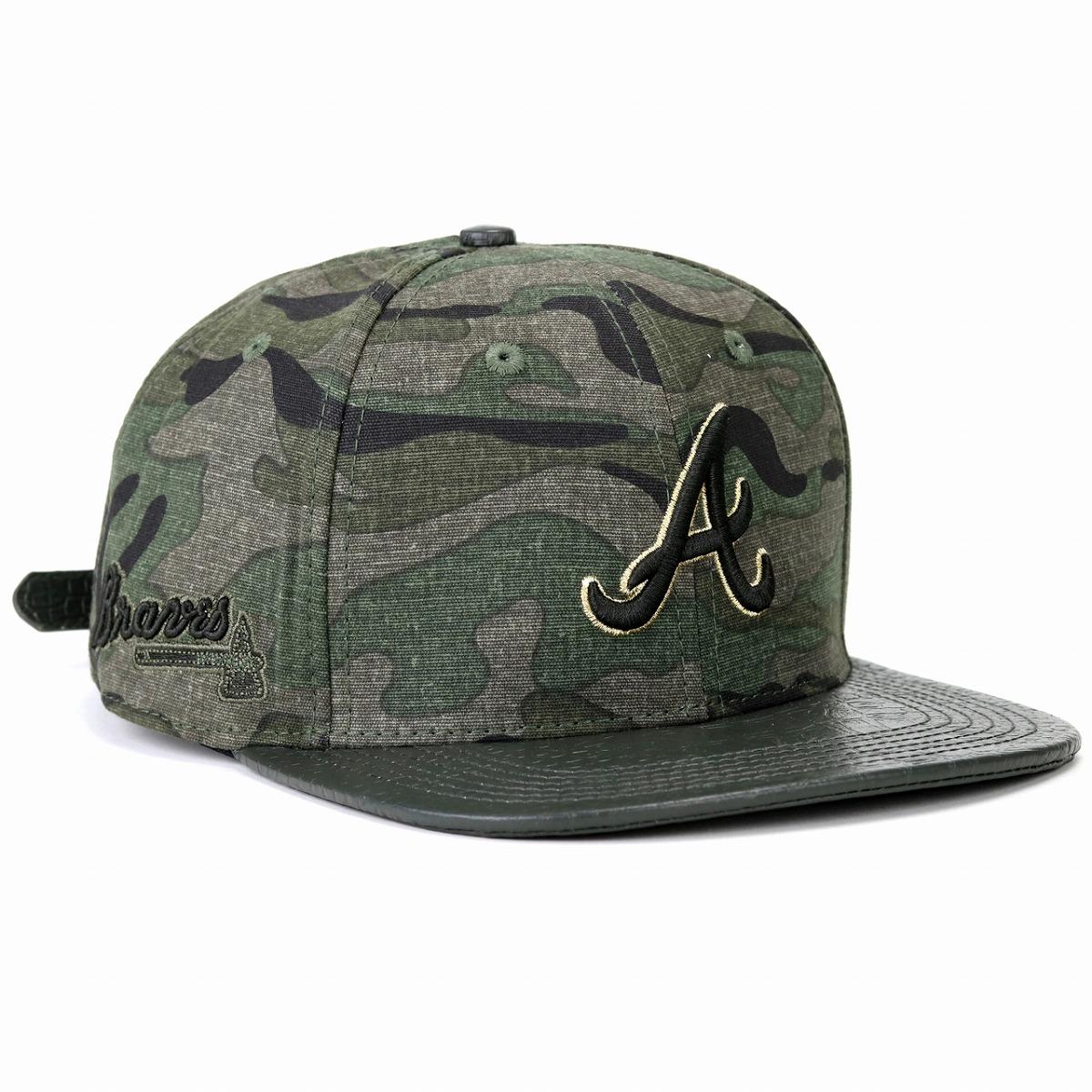 new product c59ad 01a4a Atlanta Braves logo camouflage cap professional standard baseball cap men  gap Dis hat MLB Atlanta Braves Logo Kamov LARA cap Pro Standard duck ...