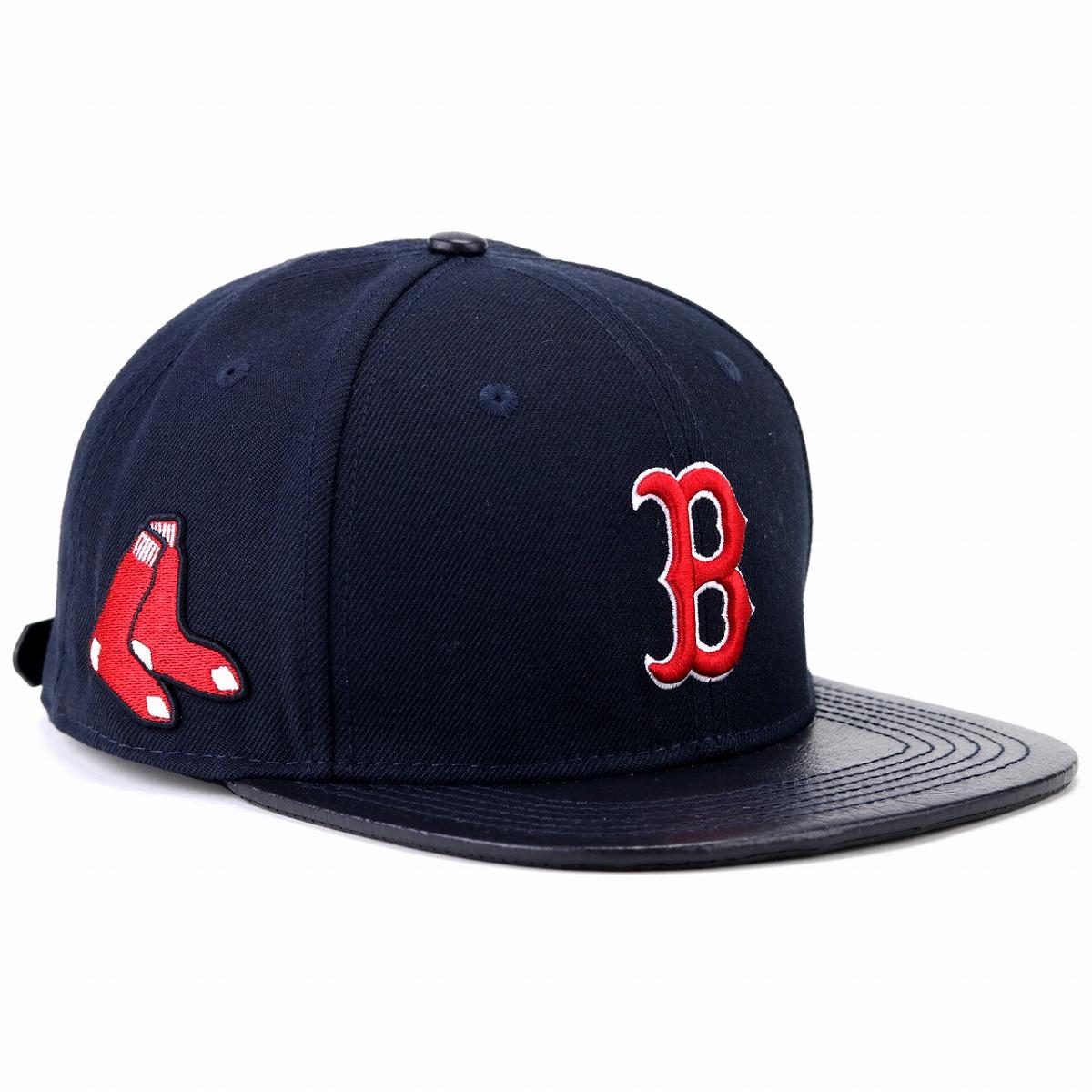 ボストンレッドソックス ロゴ キャップ プロスタンダード 野球帽 メンズ レディース 帽子 MLB Boston Red Sox Logo cap Pro Standard 紺 ネイビー[ baseball cap ]