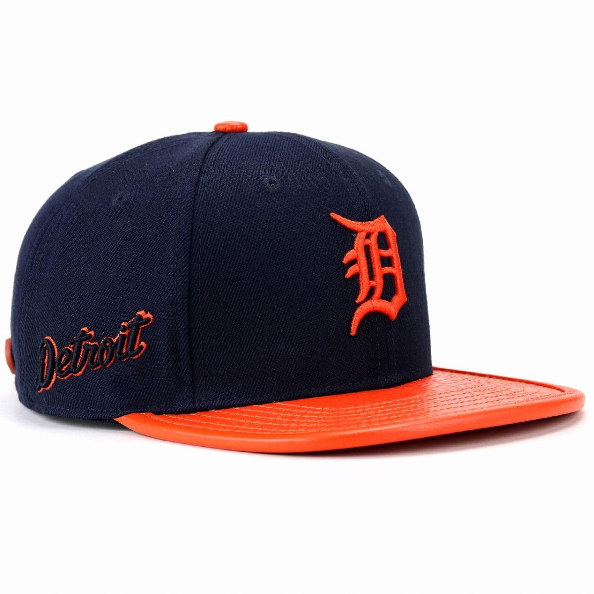 デトロイト タイガース ロゴ キャップ プロスタンダード MLB Detroit Tigers Logo メンズ レディース 帽子 Pro Standard 野球帽 紺 ネイビー[ baseball cap ]