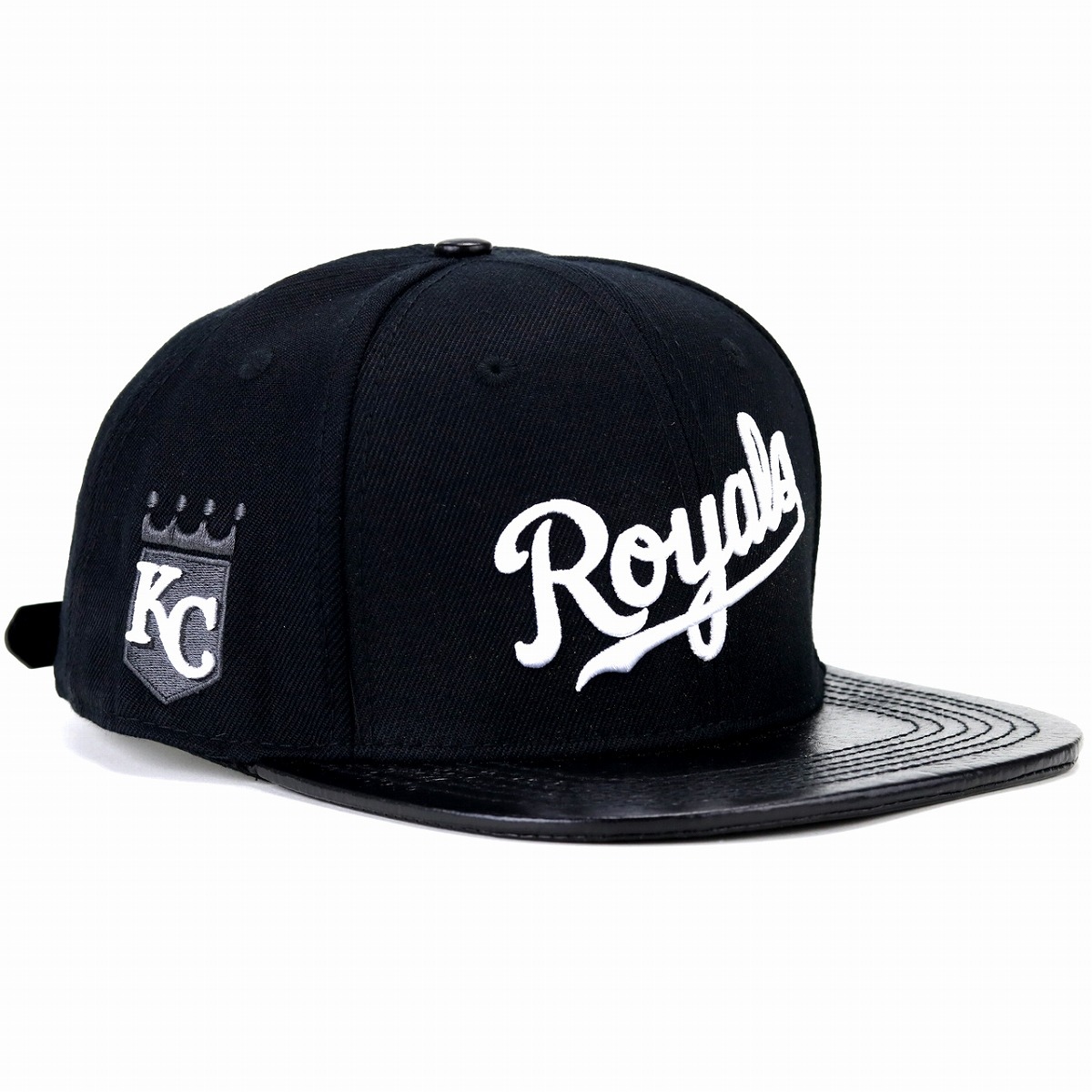 Professional standard Kansas city Royals cap men gap Dis hat Pro Standard MLB  Kansas City Royals Logo black black  baseball cap  1288782563cd