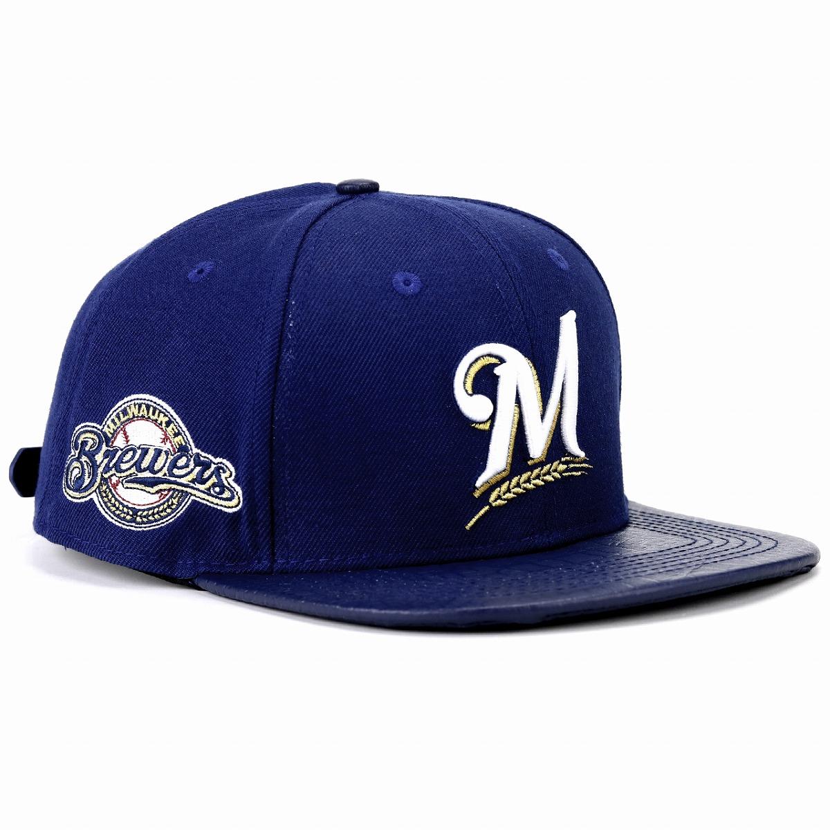dd0cd3803 Milwaukee Brewers logo embroidery cap professional standard baseball cap  men gap Dis hat Pro Standard MLB Milwaukee Brewers Logo cap dark blue navy  ...