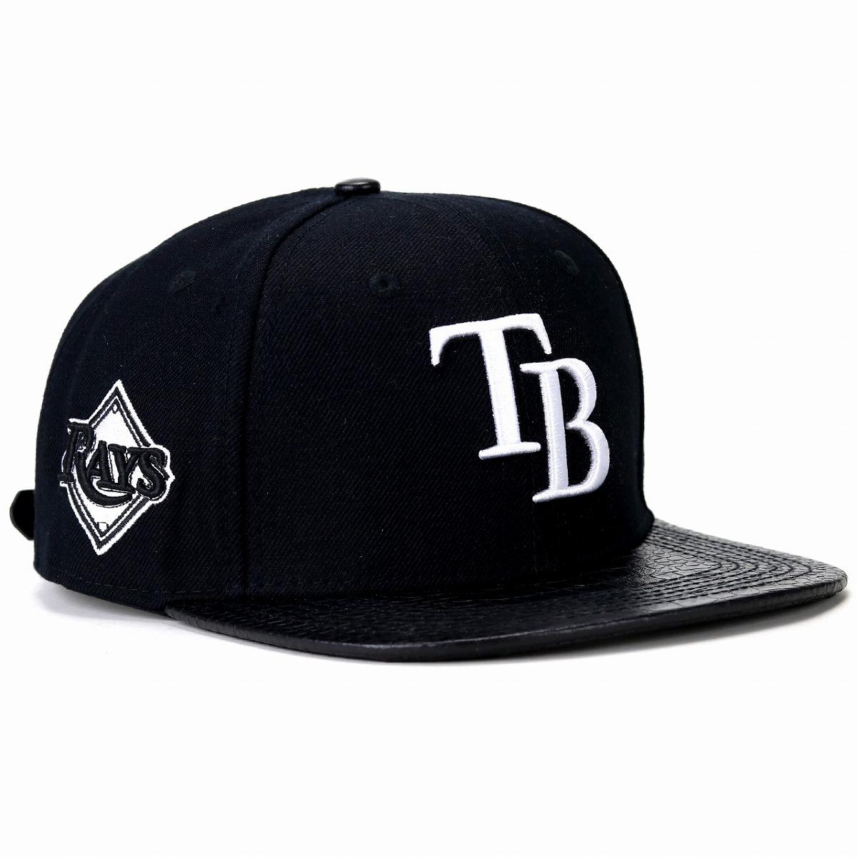 タンパベイレイズ ロゴ 刺繍 キャップ プロスタンダード 野球帽 メンズ レディース 帽子 Pro Standard MLB Tampa Bay Rays Logo 黒 ブラック[ baseball cap ]