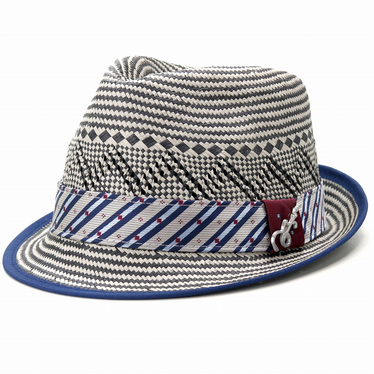 97522b7c3 Carlos Santana hat men pattern straw hat Degree TOYO aestheometry soft felt  hat ストローハットレディースハットトーヨーインポー ...