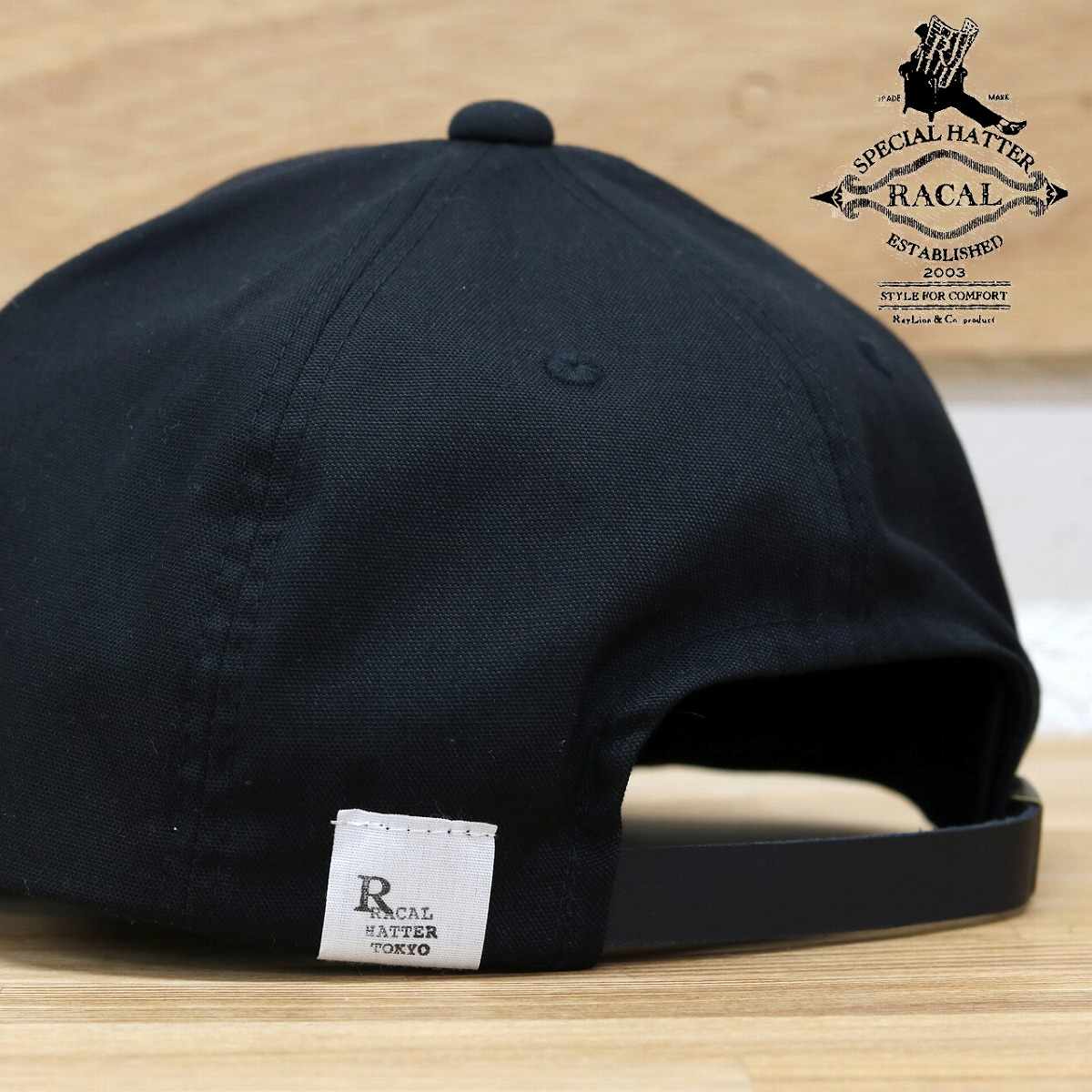 It is racal cap Lady s   black black  umpire cap  adjustable size gift  present ... 1136a4ef0701