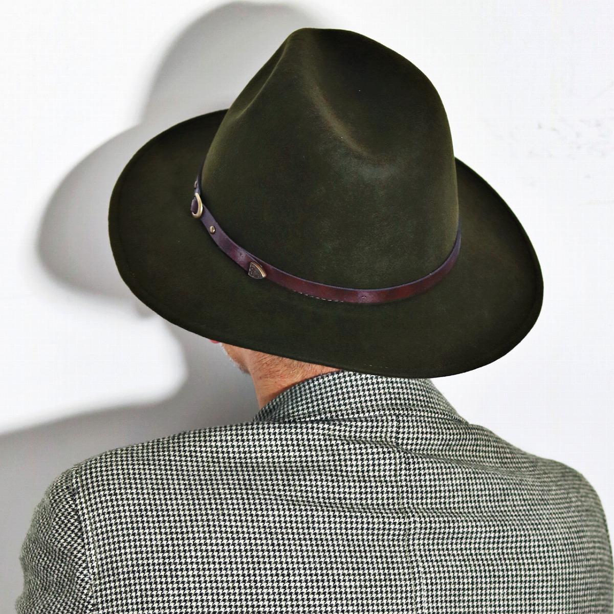bf0f84e31e6d85 ... Christie's hat men's wide brim Christie's London brim wide Hat autumn/winter  Safari Hat Hat
