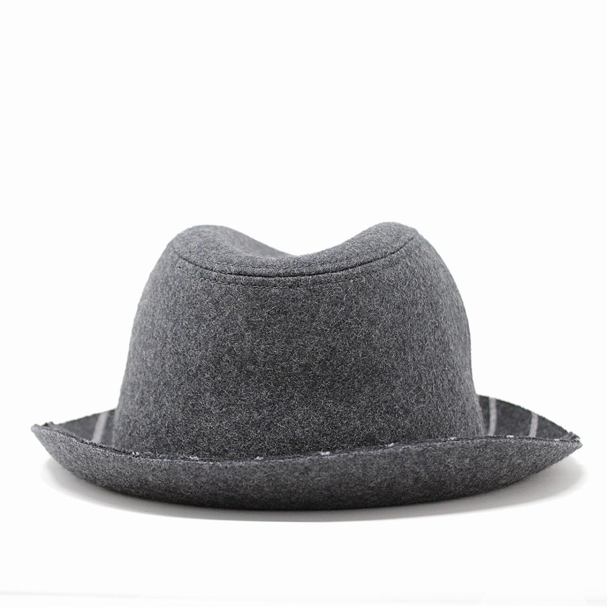 1fa1aefb8ae Charcoal Grey Fedora Hat. smithbilt hats 3x quality dark grey fine ...