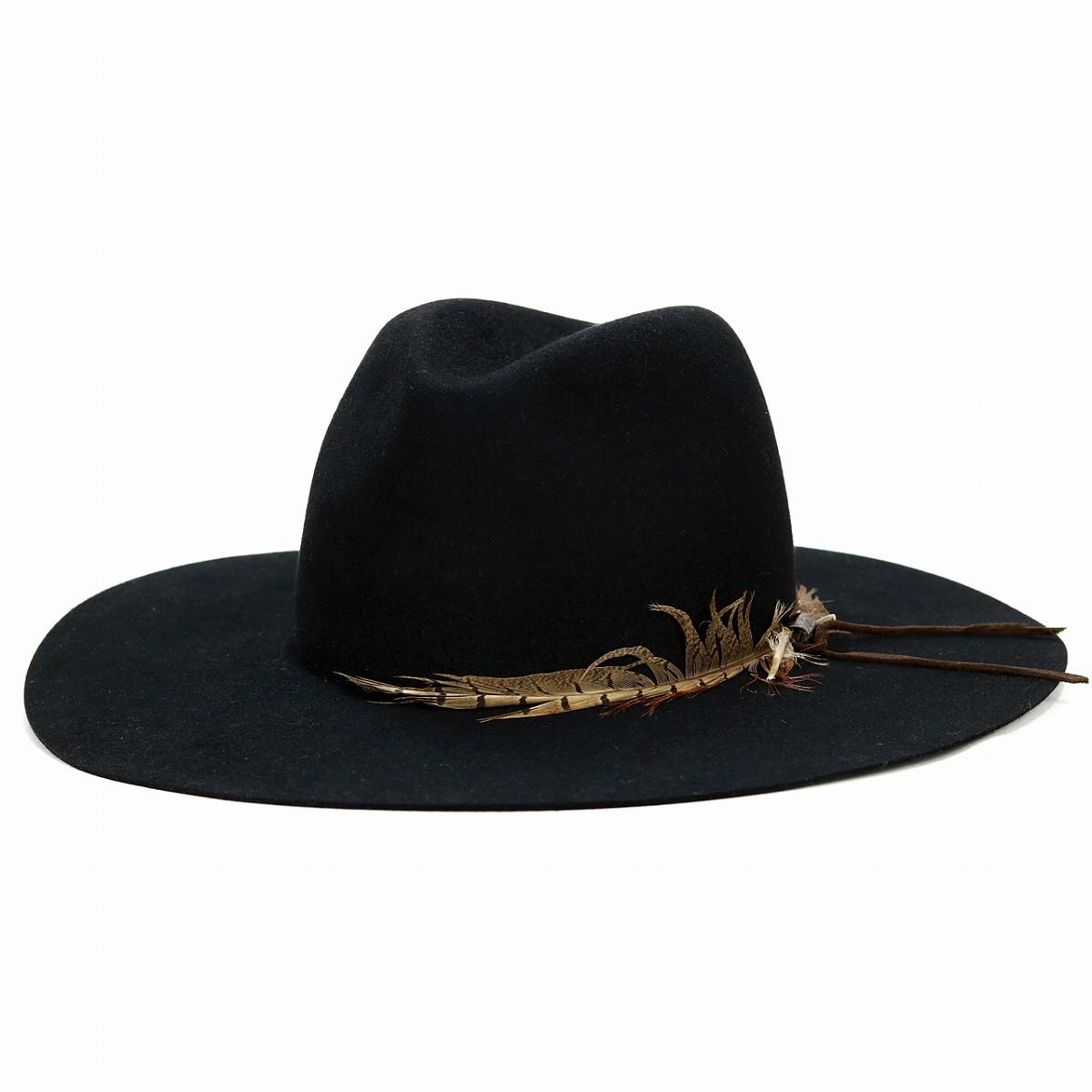 ... Trilby hat gentleman 57cm 59cm black black  cowboy hat  sells stetson  hat by mail ... 459ba1991d1