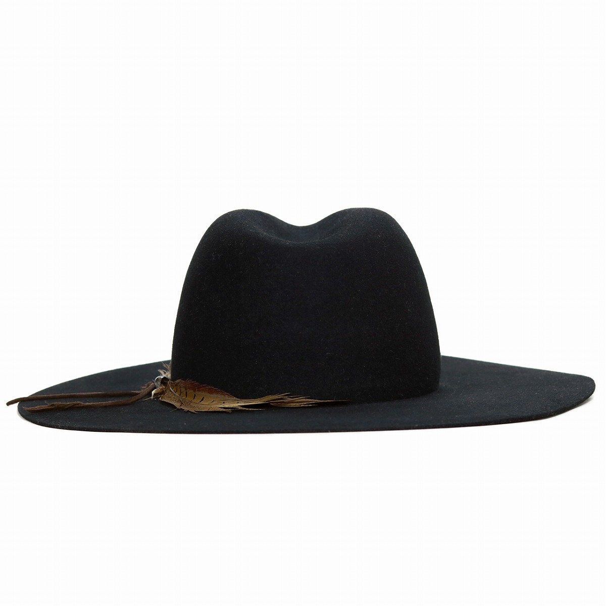 372d0c494a9 Trilby hat gentleman 57cm 59cm black black  cowboy hat  sells stetson hat  by mail order  felt hat   wide-brim hat  in felt cowboy hat feather flat  visor ...