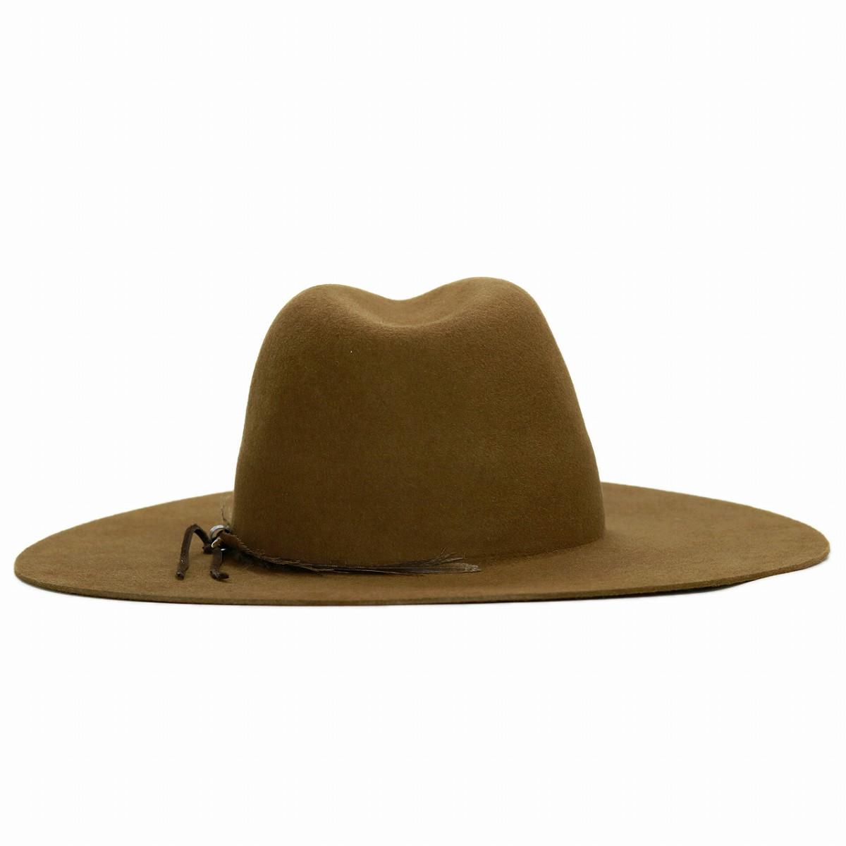 ... Hat felt cowboy hat trilby hat gentleman 57cm 59cm brown camel  cowboy  hat  made ... ea7a4693c61
