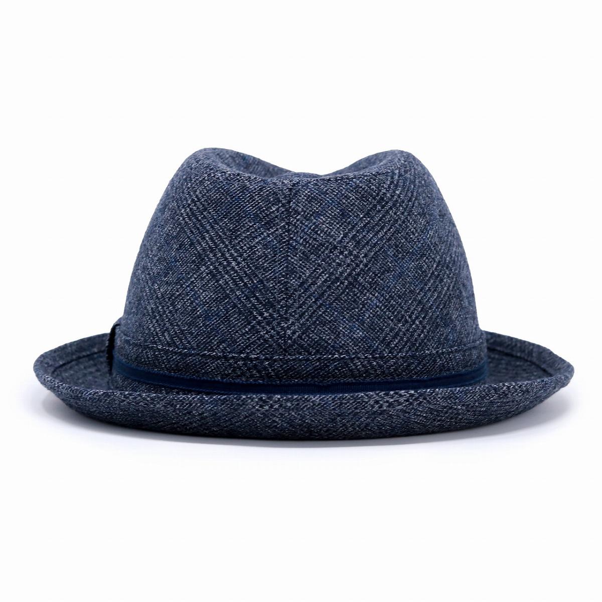 78db2f0232f19 ELEHELM HAT STORE  Dark blue navy  fedora  Respect for the Aged Day ...