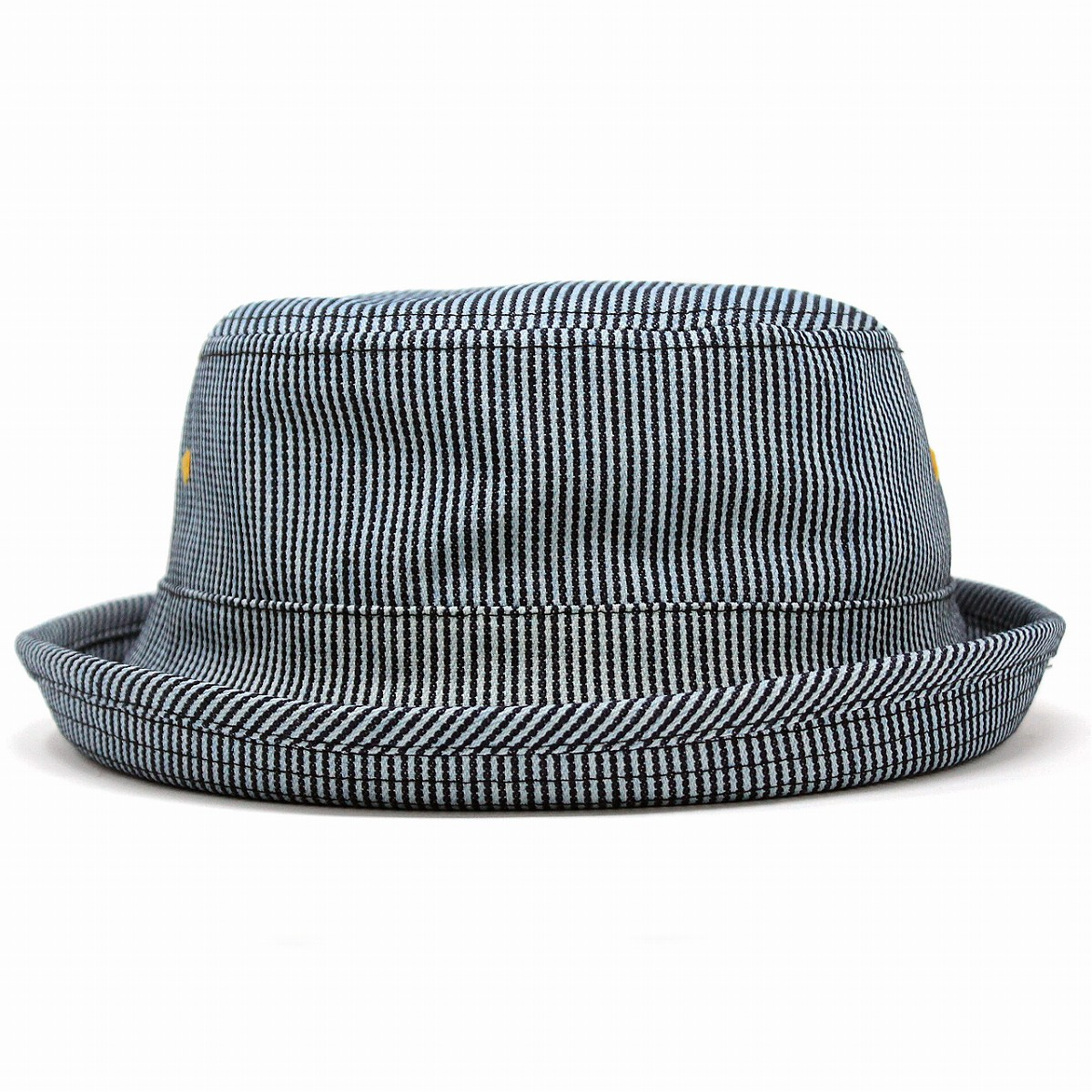 Accessoryo Unisex Grey Wool Pork Pie Hat Available in a Selection of Sizes